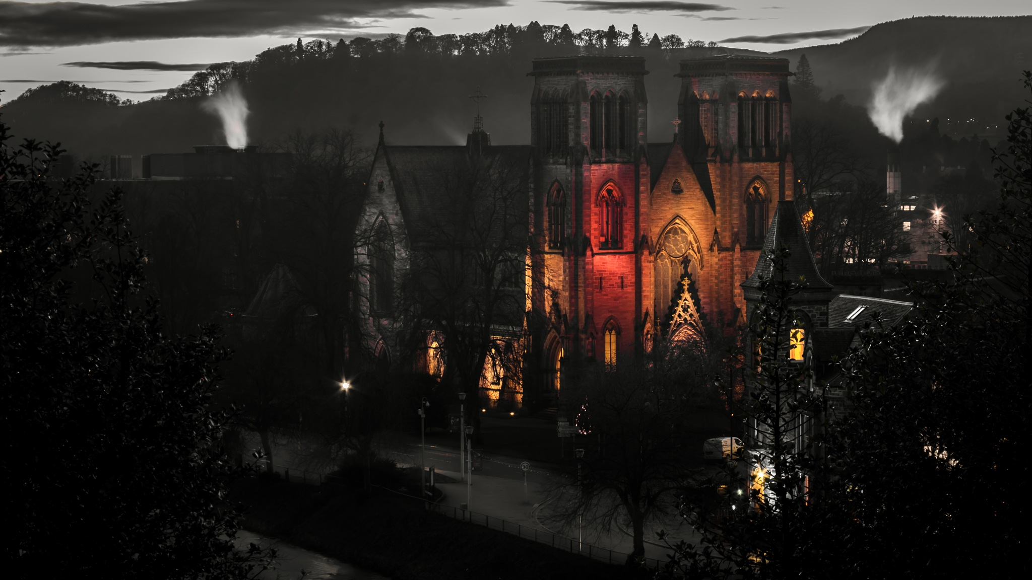St Andrew Cathedral - Inverness V by Fabio Rodrigues