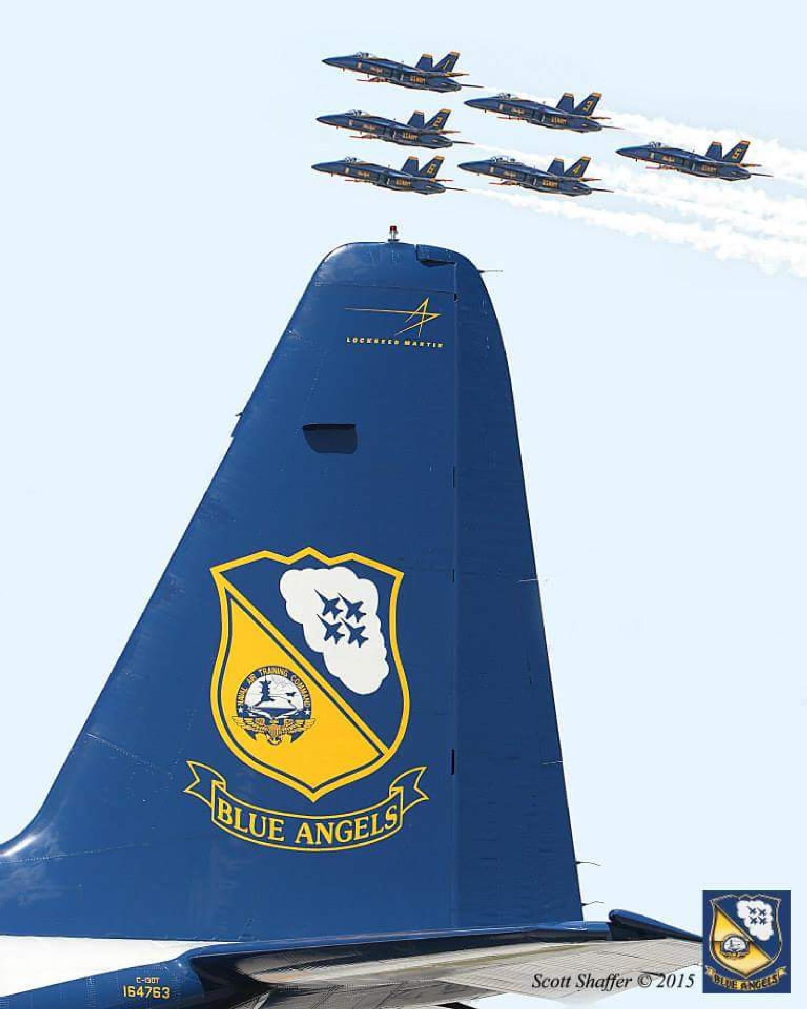 Blue Angels by Scott Shaffer
