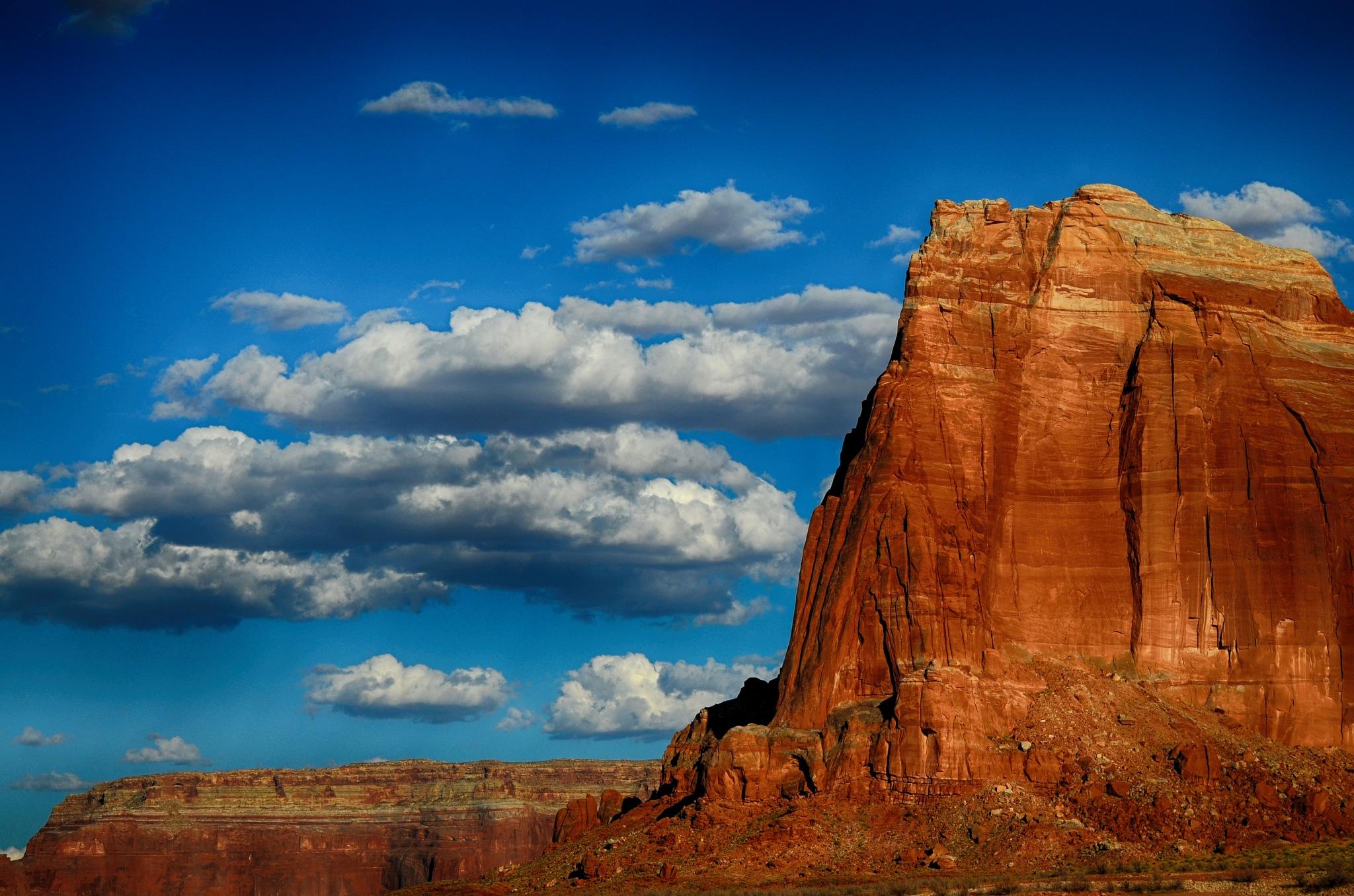 rocks&clouds by manuel patti