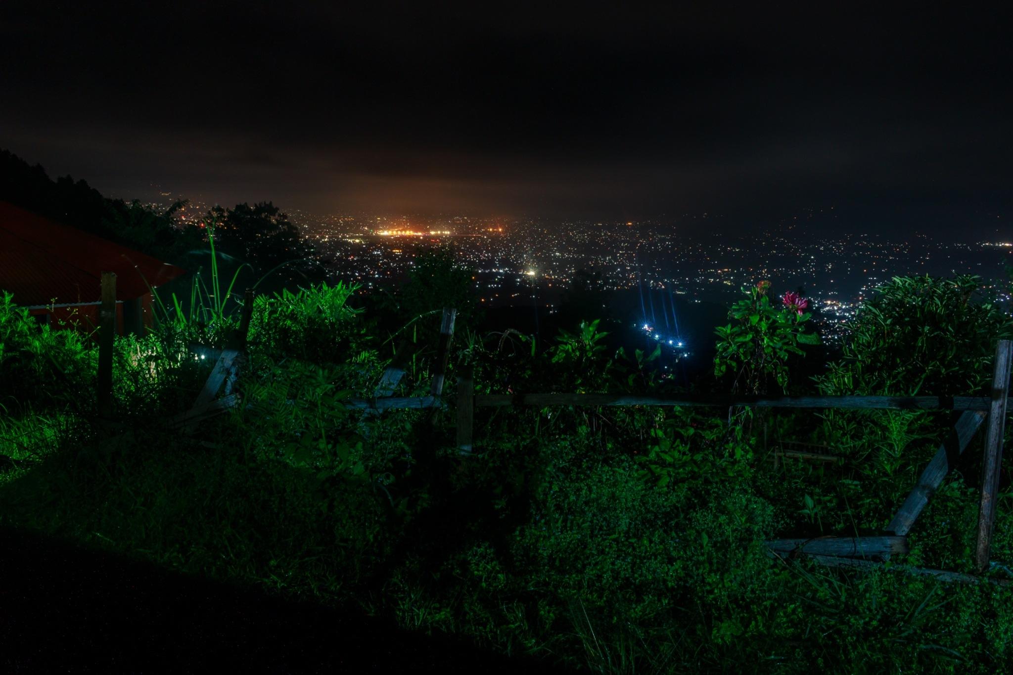 Kathmandu at night by sushil bhattarai
