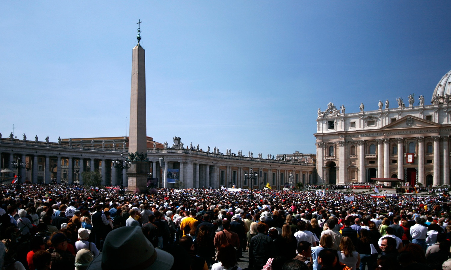Easter in the Vatican City by Mick Egan