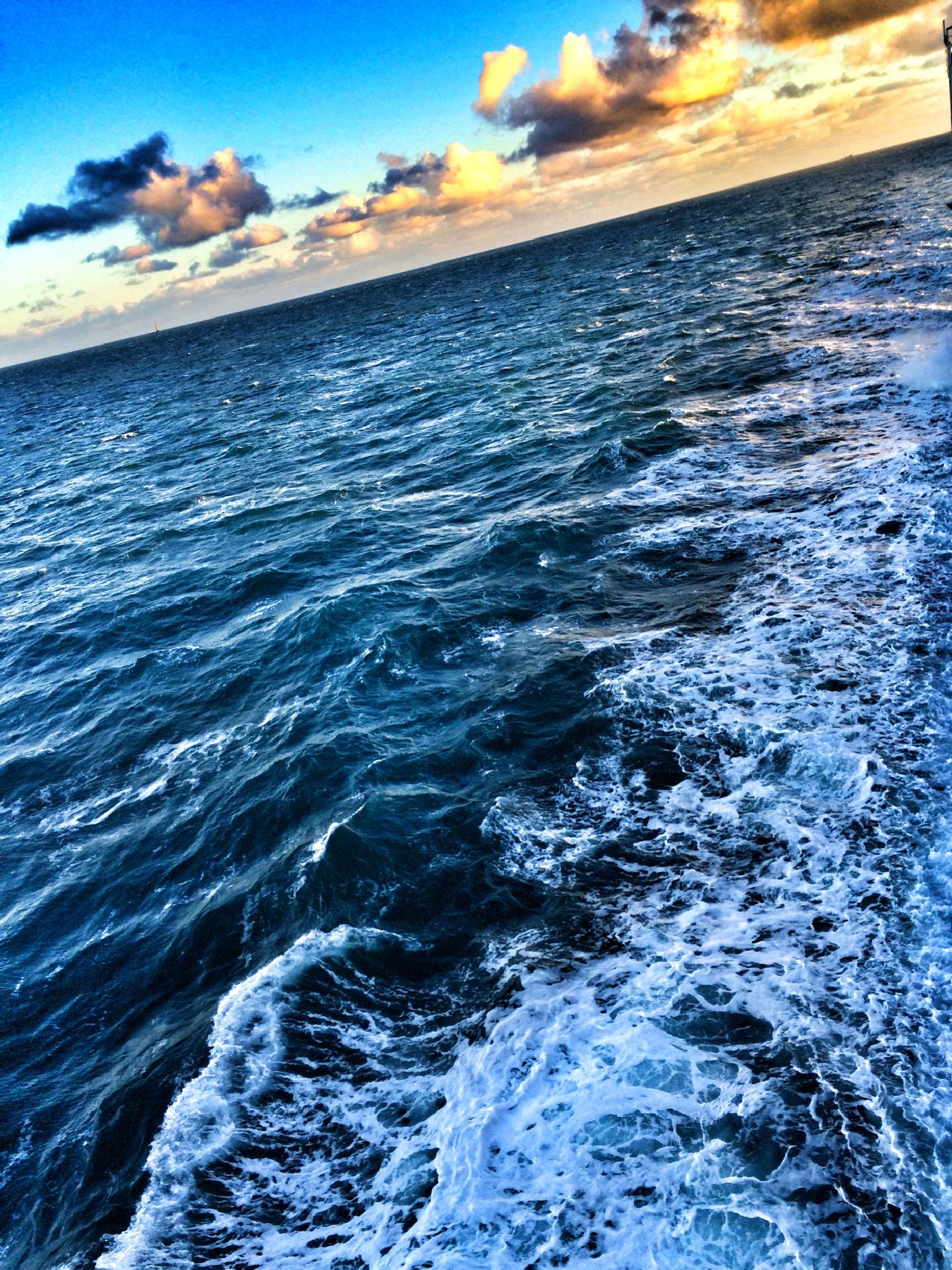 The Irish Sea by Andy Lake