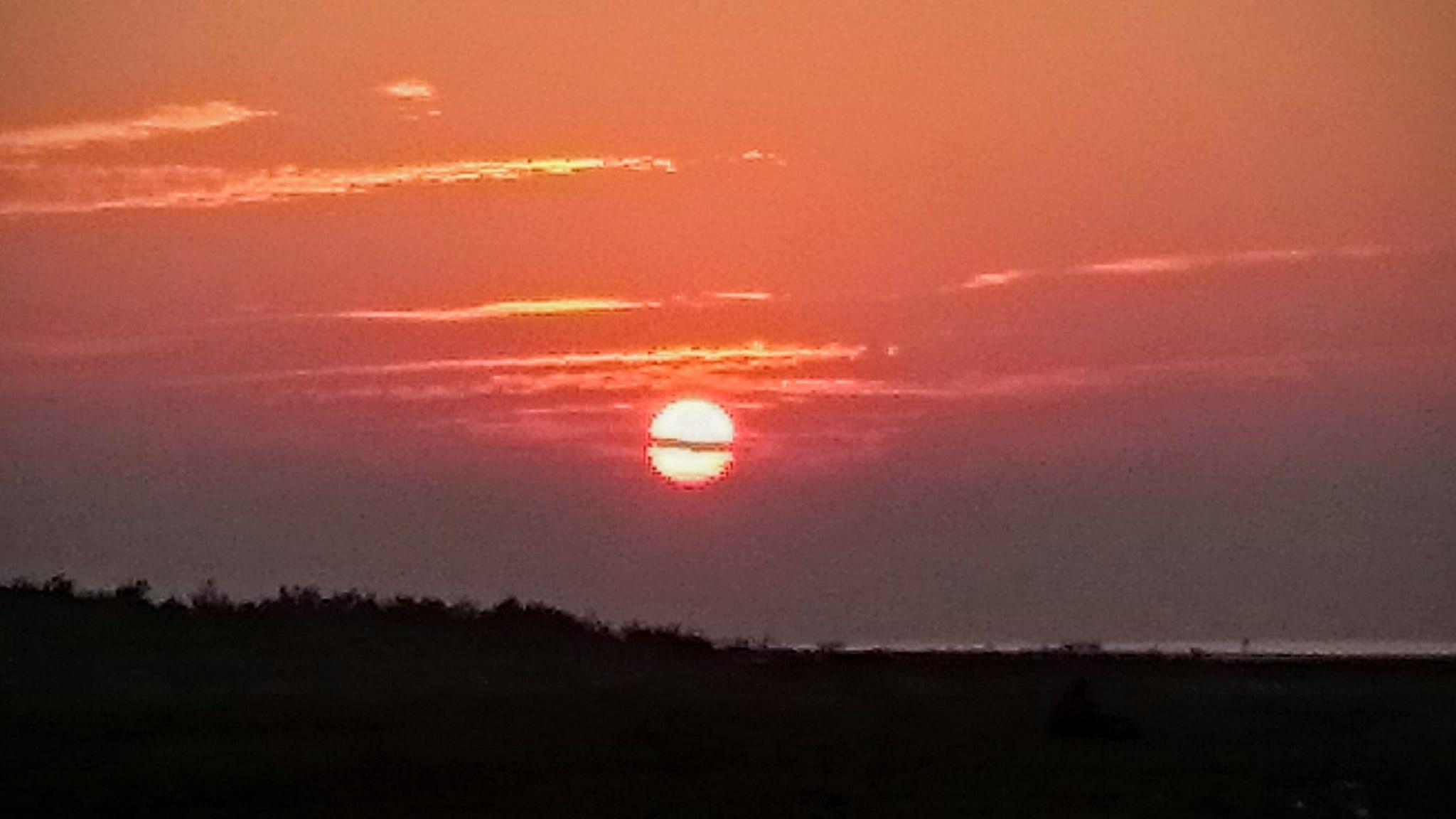 Sunrise  by falsparsh