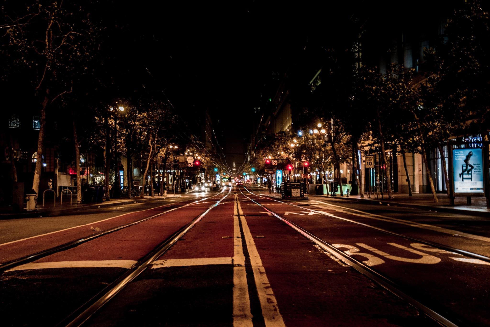 Market Street@ night by Matt_Lens