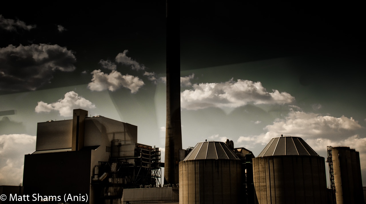 Photo in Industrial #landscape #factory