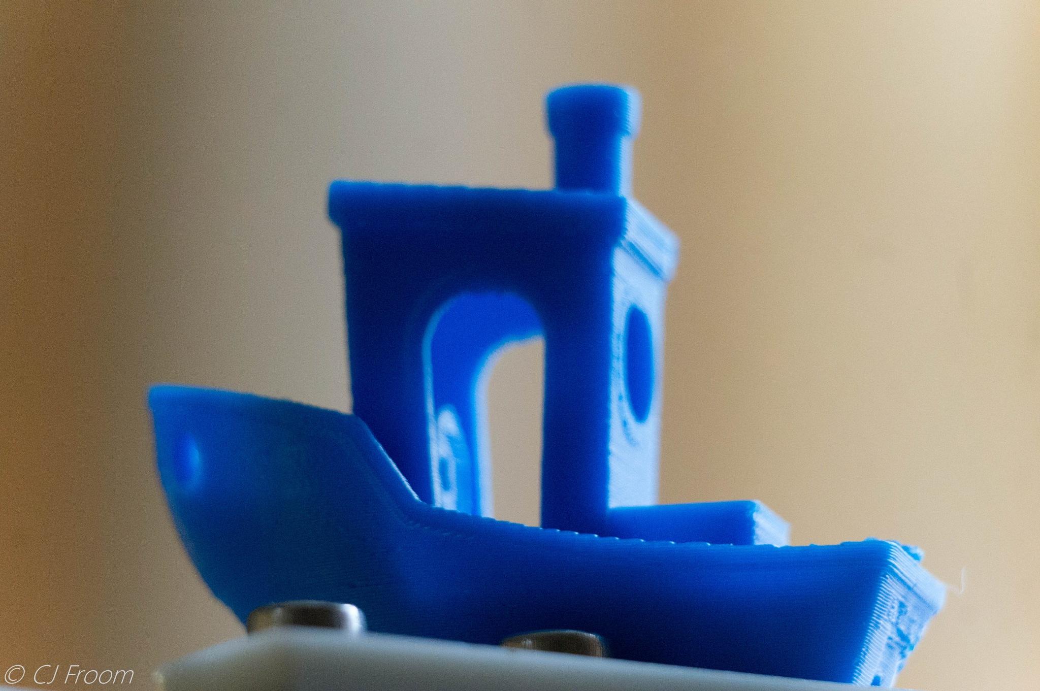 Little Blue Boat by Cj Froom