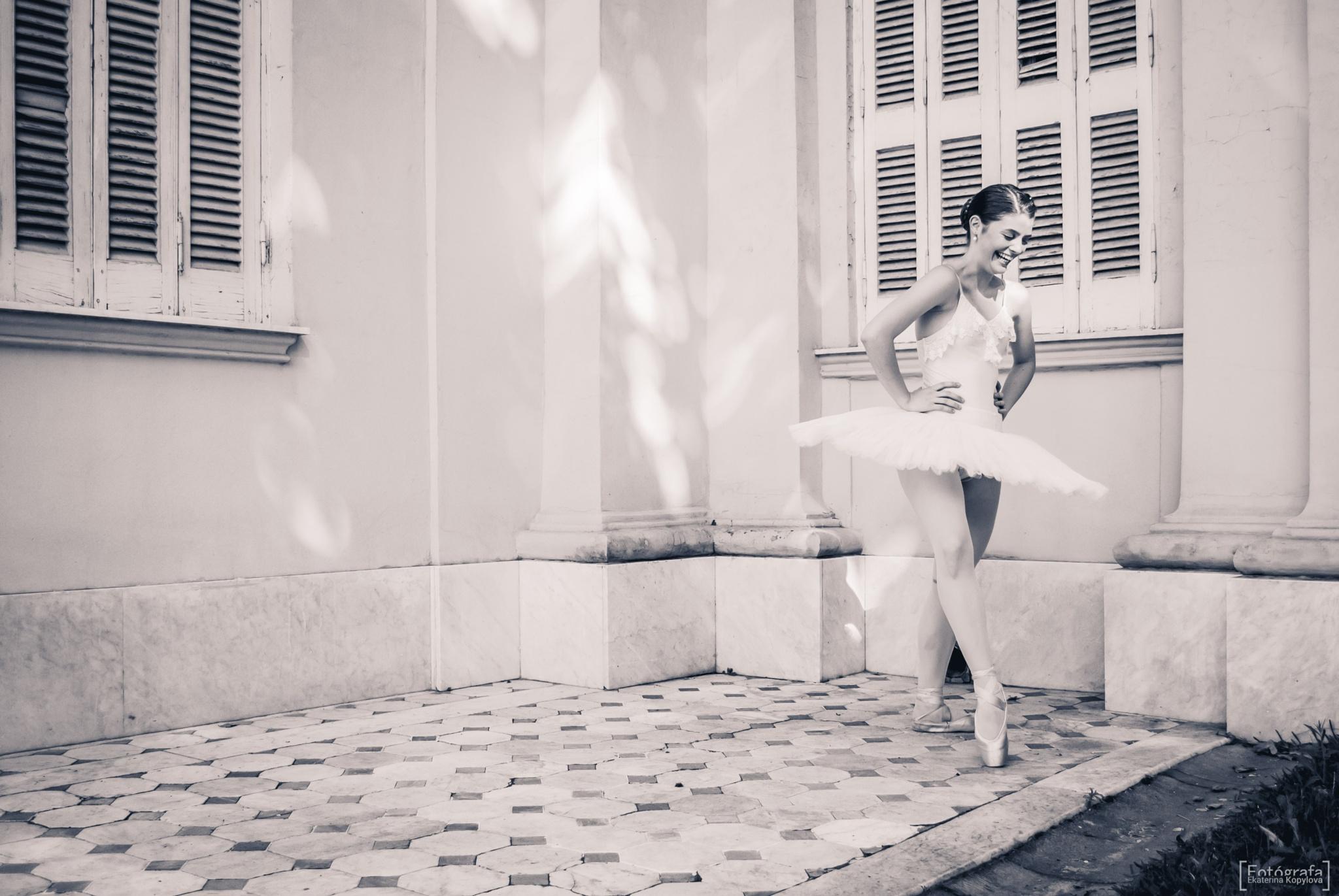 Smily ballerina  by Ekaterina Kopylova