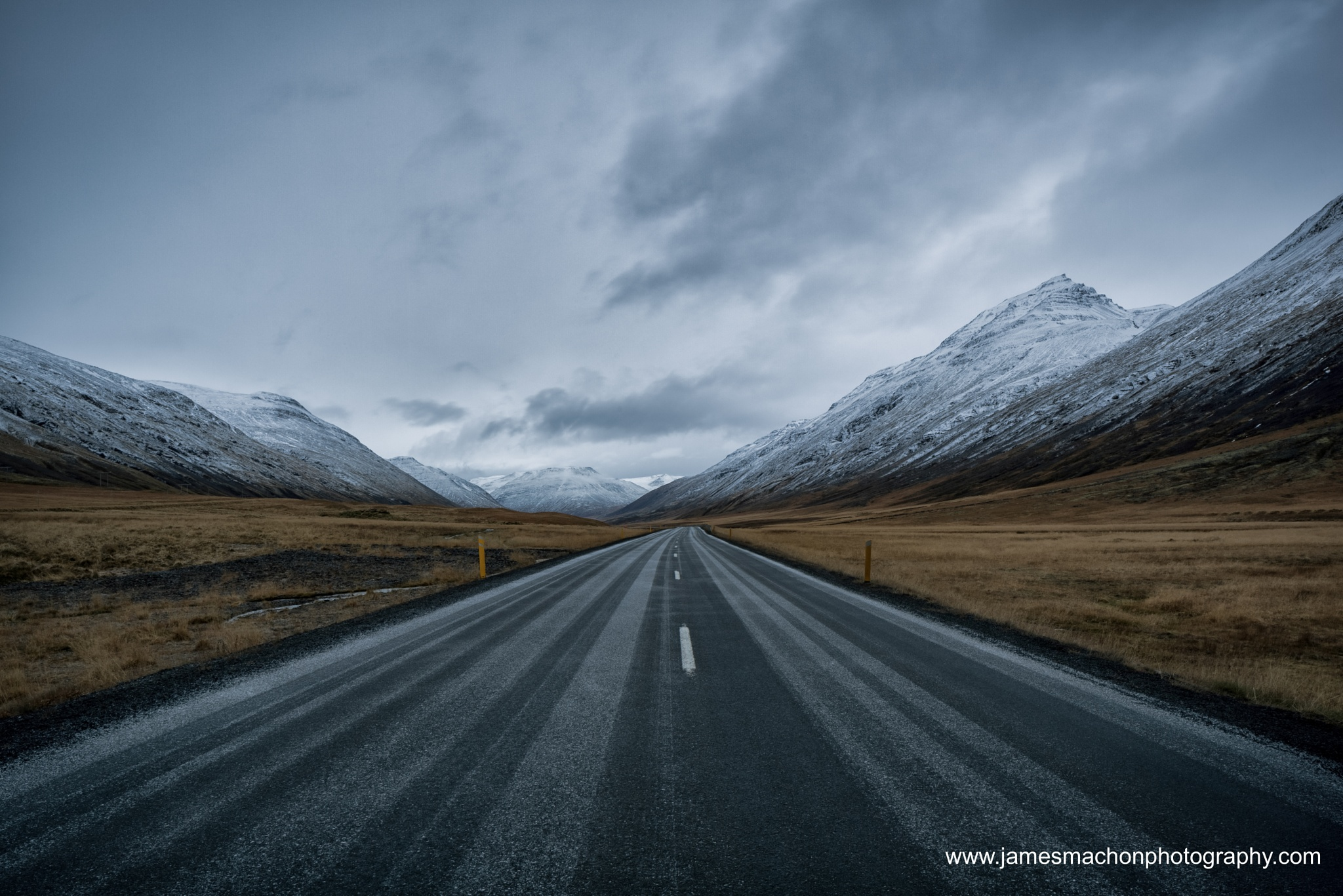 Mountain Road by James Machon Photography