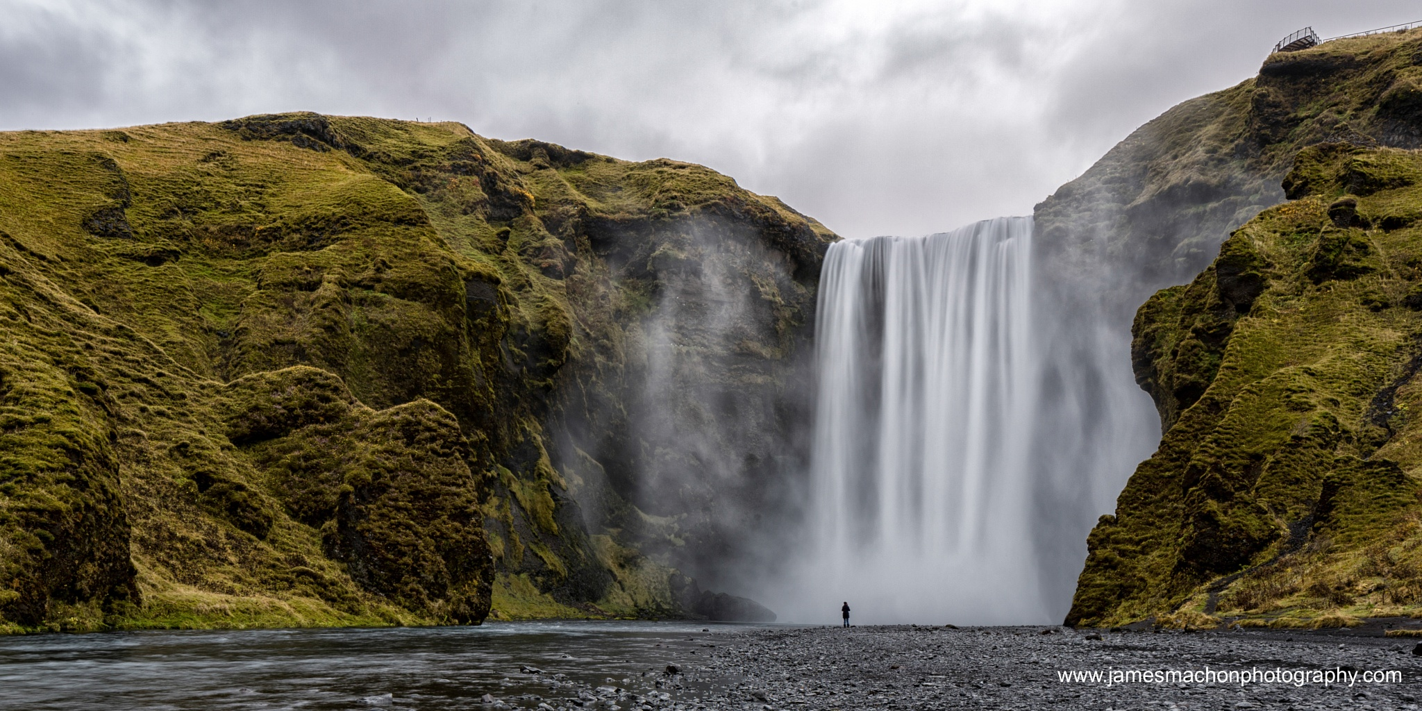 Skogafoss Waterfall by James Machon Photography