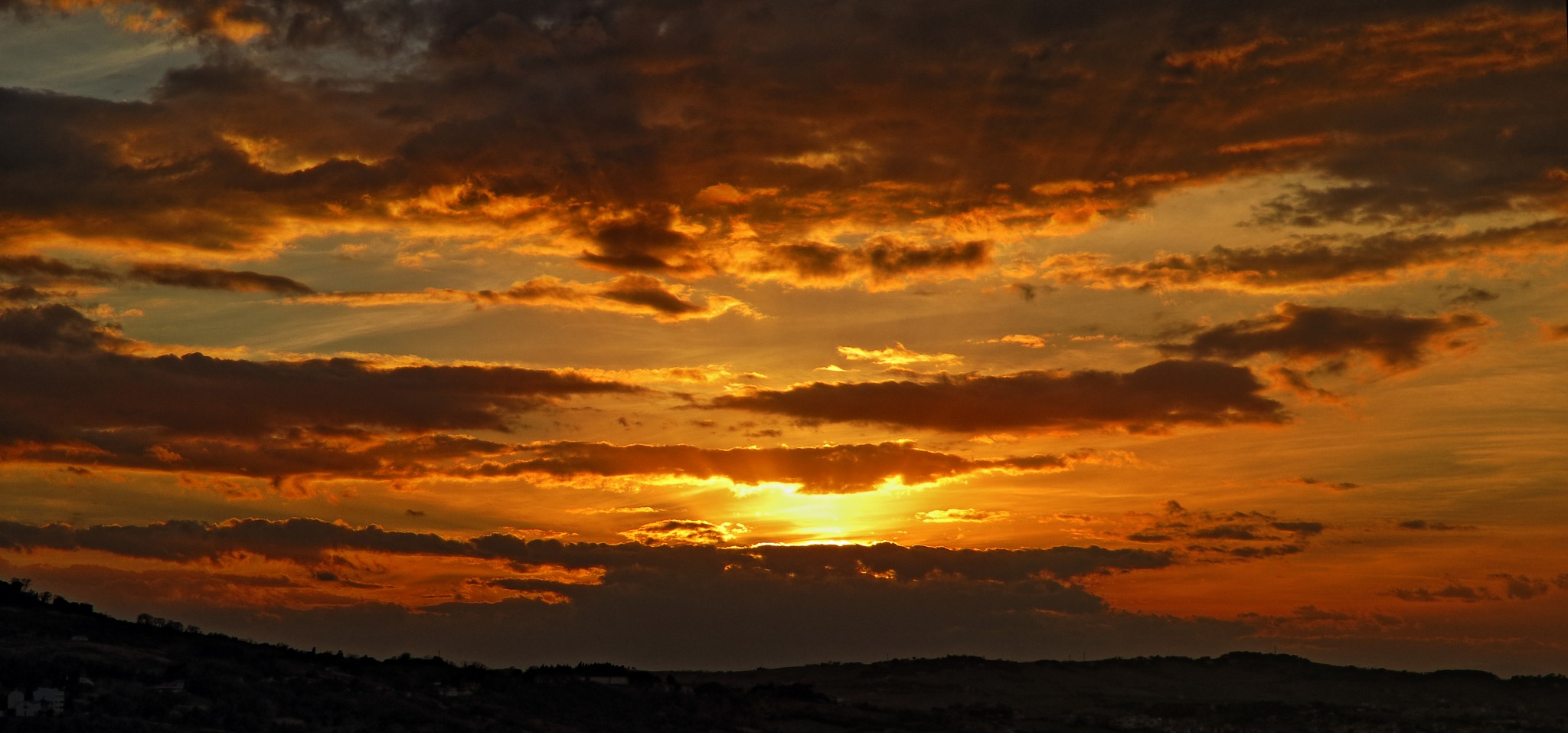Ancona, Marche, Italy - Sunset in the clouds by Gianni Del Bufalo CC BY-NC-SA by gianni del bufalo