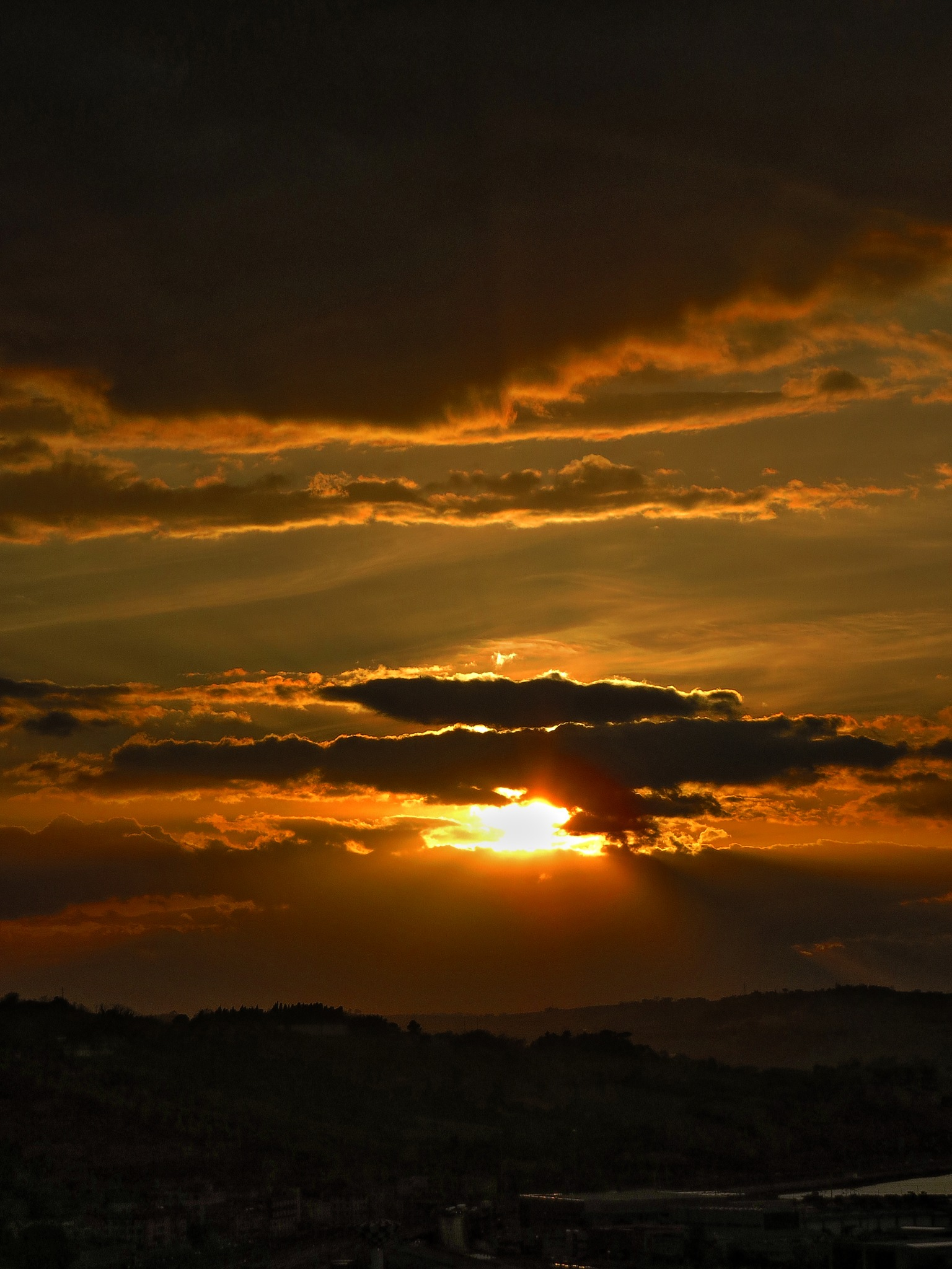 Ancona, Marche, Italy - Sunset in the clouds 3 by Gianni Del Bufalo CC BY-NC-SA by gianni del bufalo
