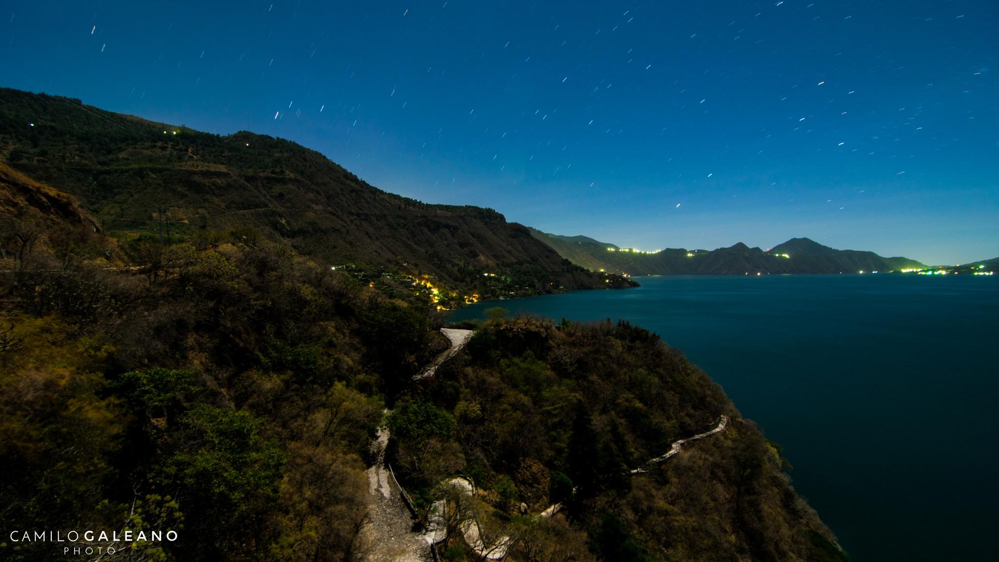 Bright night by Camilo Galeano