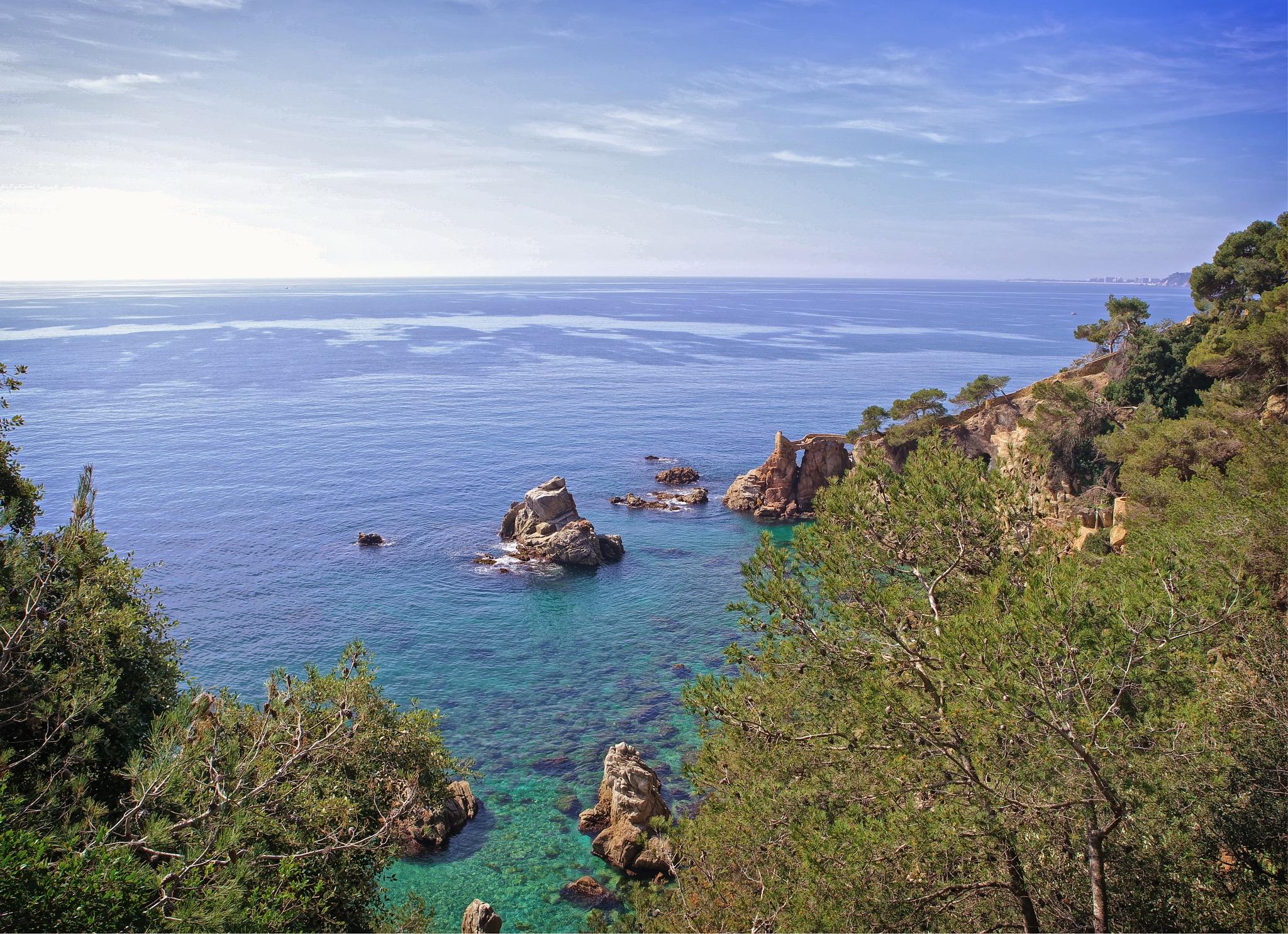Lloret de Mar - Camí de ronda by Quijuka Scrap World