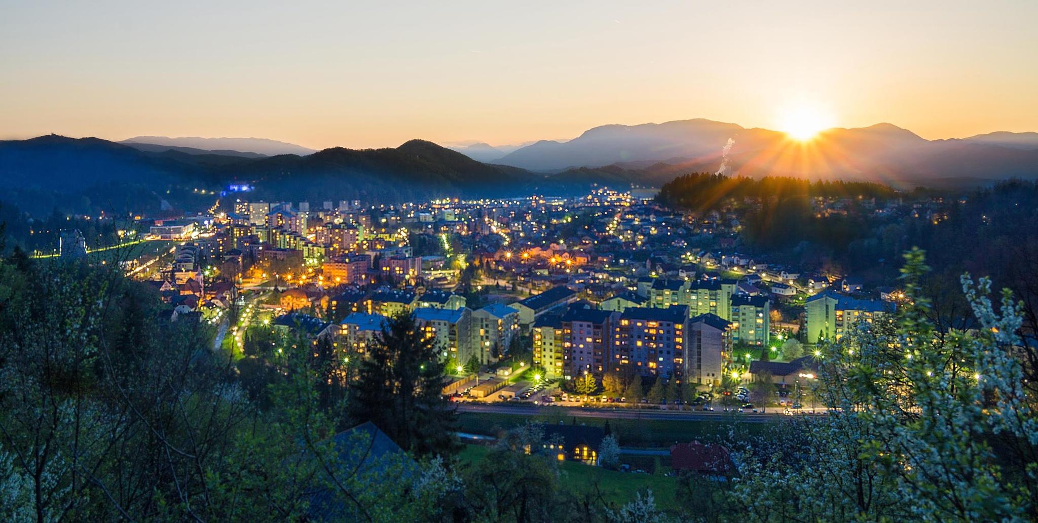 City Velenje by Roman Bor
