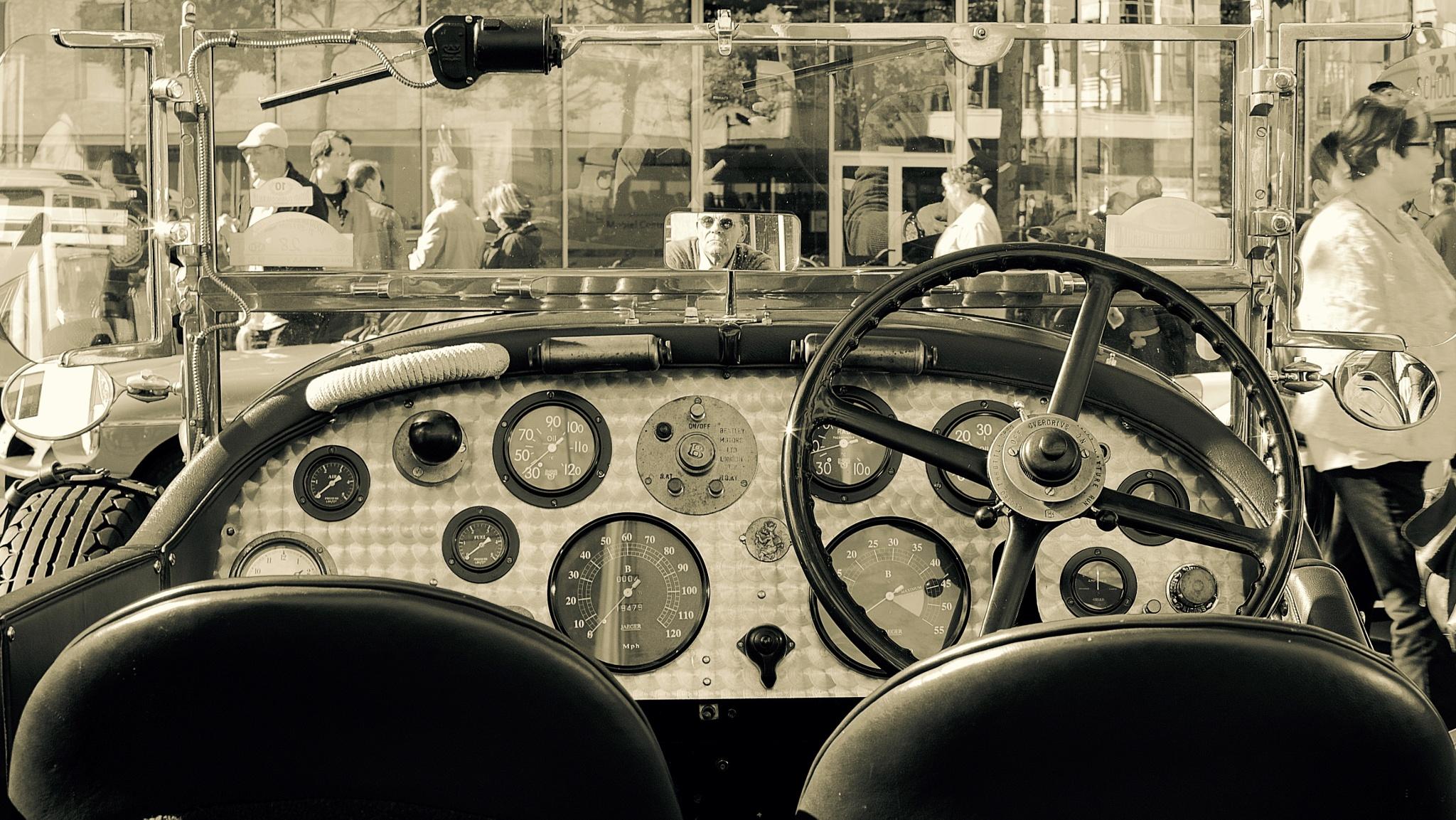 Oldtimer Bentley Le Mans. by peterfmmerx