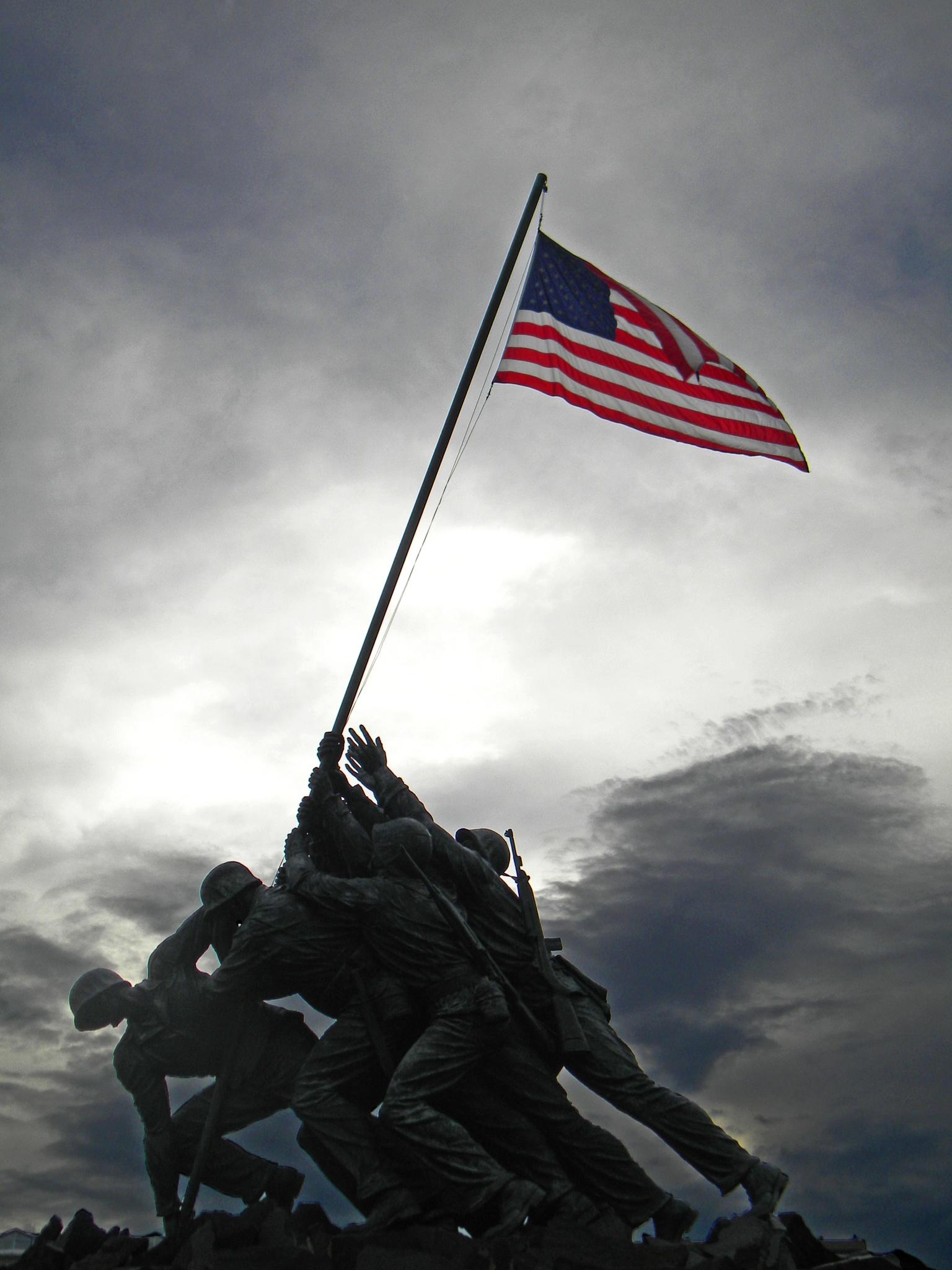 Marine Corps War Memorial by Phillip W. Strunk