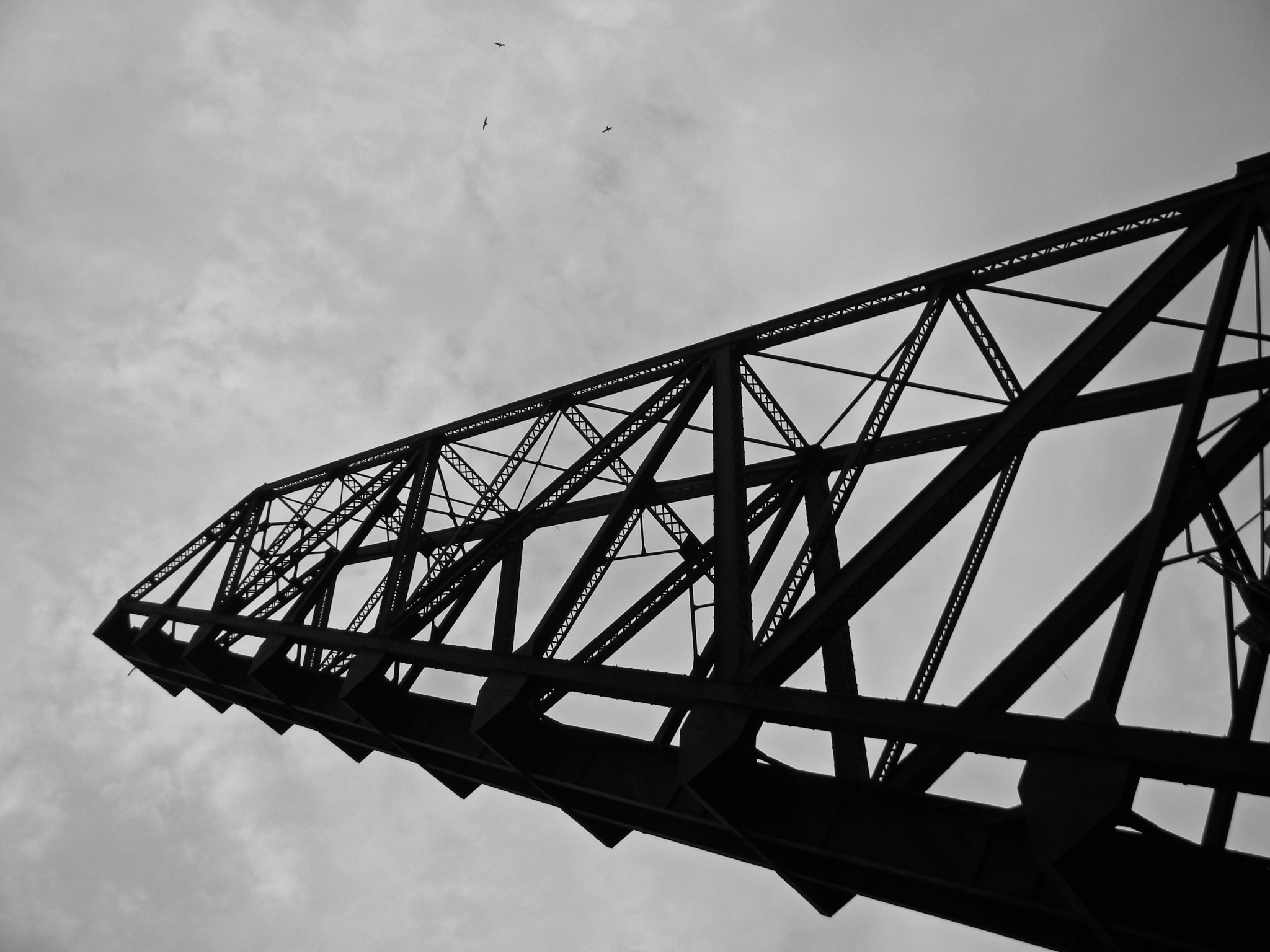 Railroad Bridge by Phillip W. Strunk