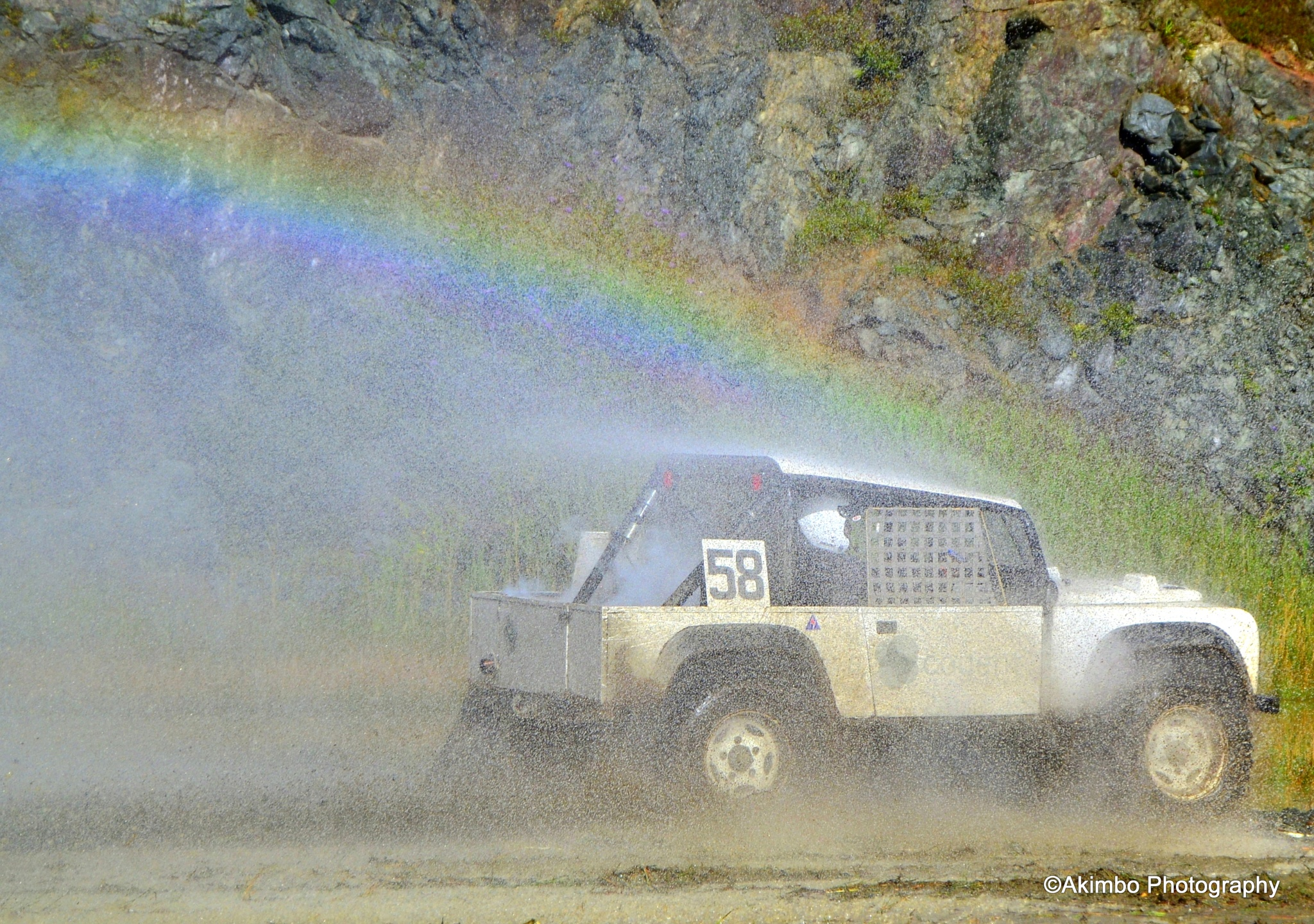 OFFROAD RAINBOW by Rob Clarke