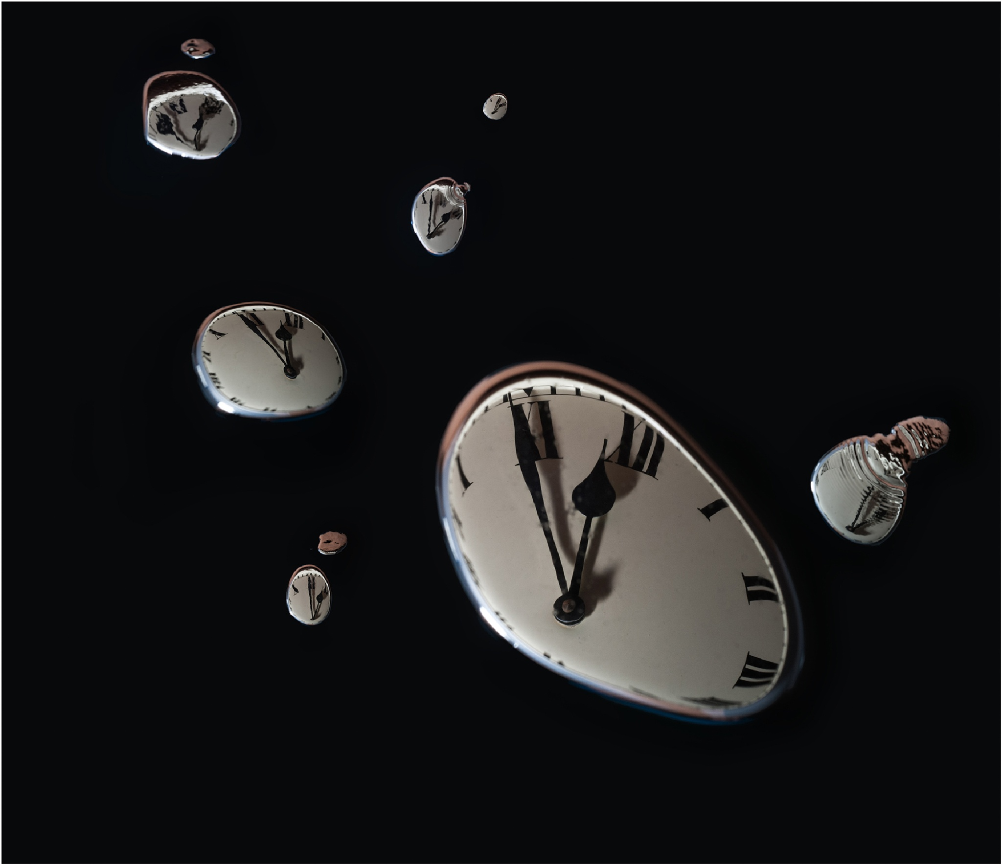 9 dimensions of space and 1of time by Elias Kamaratos