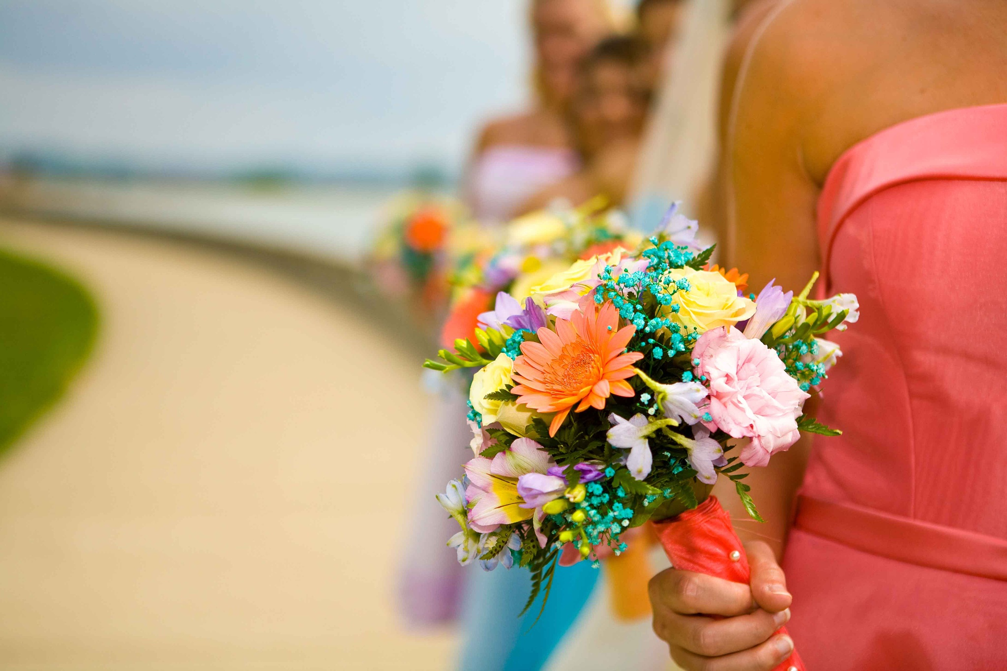 Bridesmaid Flowers by JP Parmley