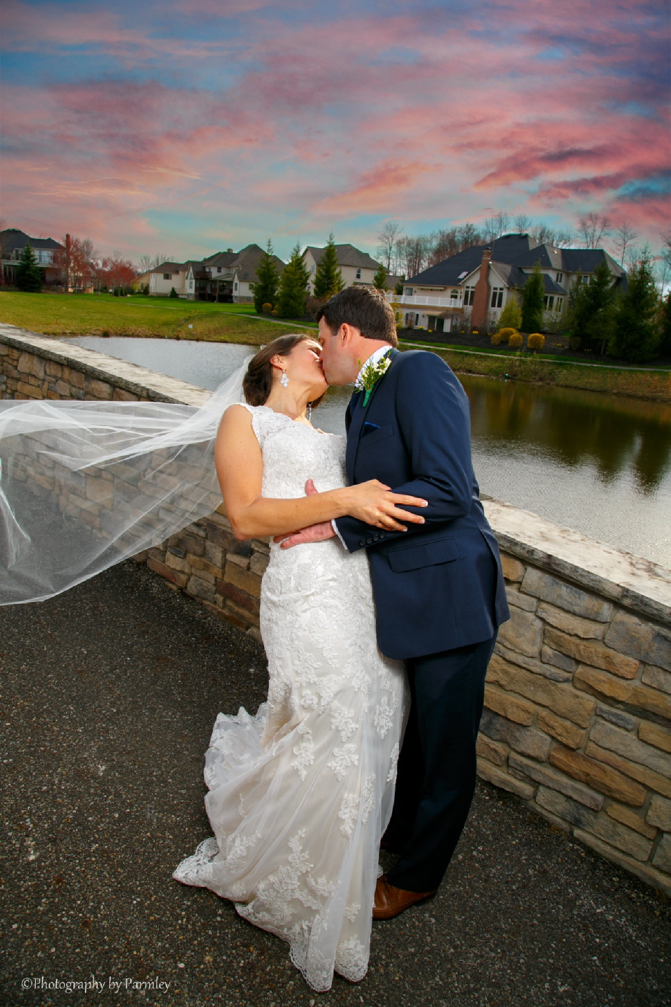Wedding Kiss by JP Parmley