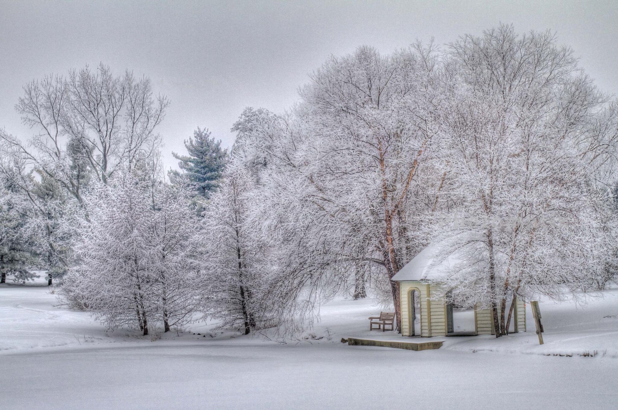 Snow Gazebo by JP Parmley