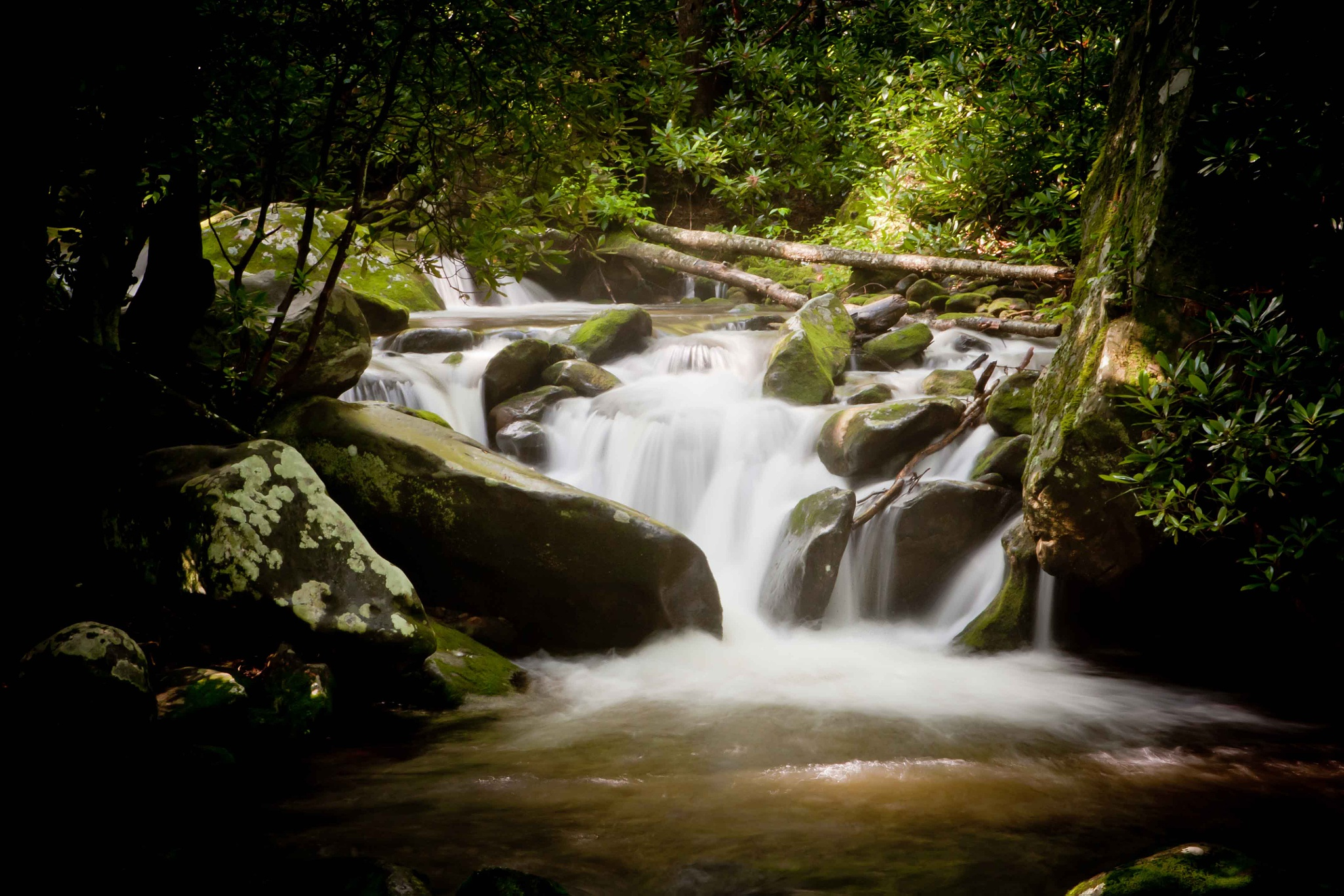 Small Water Fall by JP Parmley