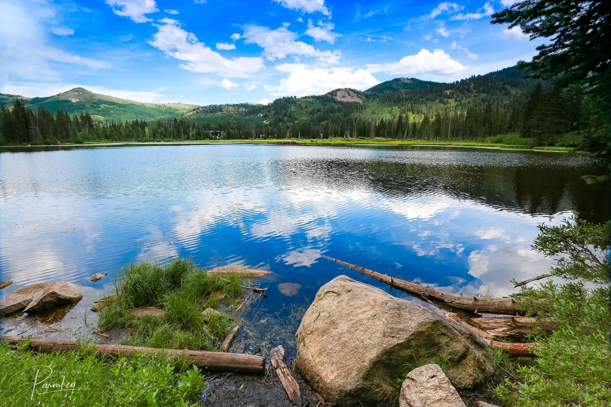 Silver Lake - I by JP Parmley