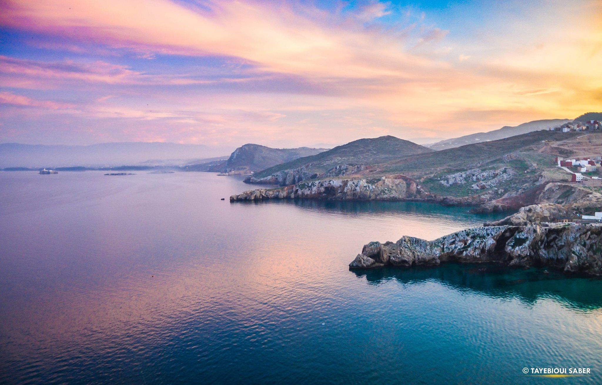 Alhoceima bay by Saber Tayebioui