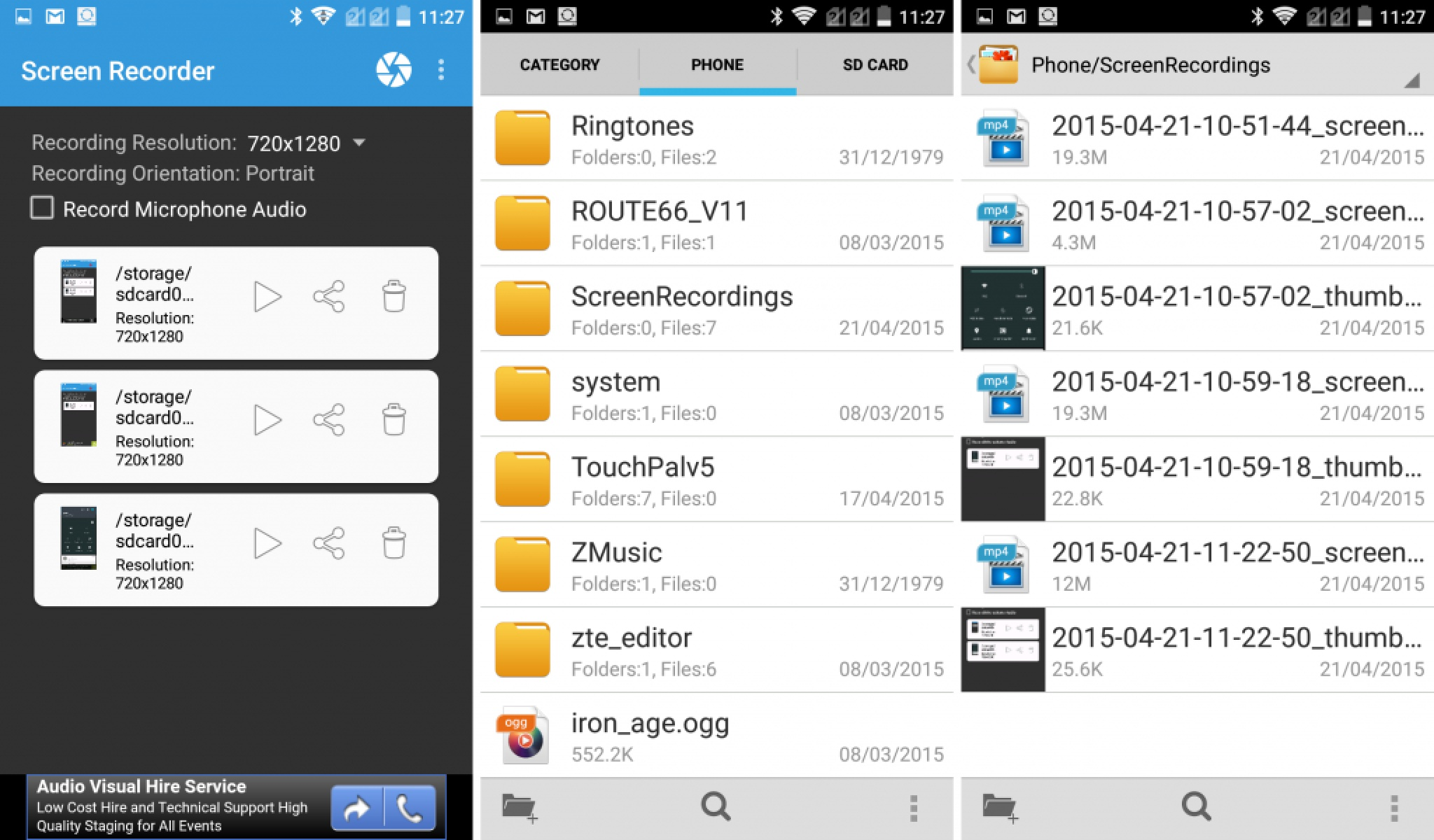 screen recorder by yologadget