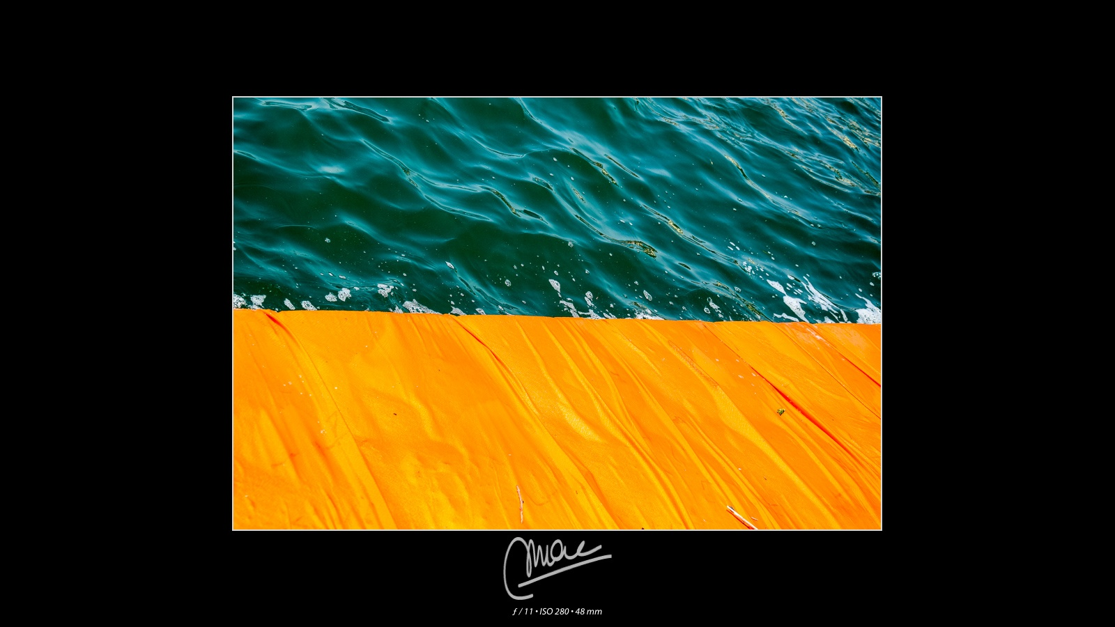 The Floating Piers #5 by Marco Andreazza