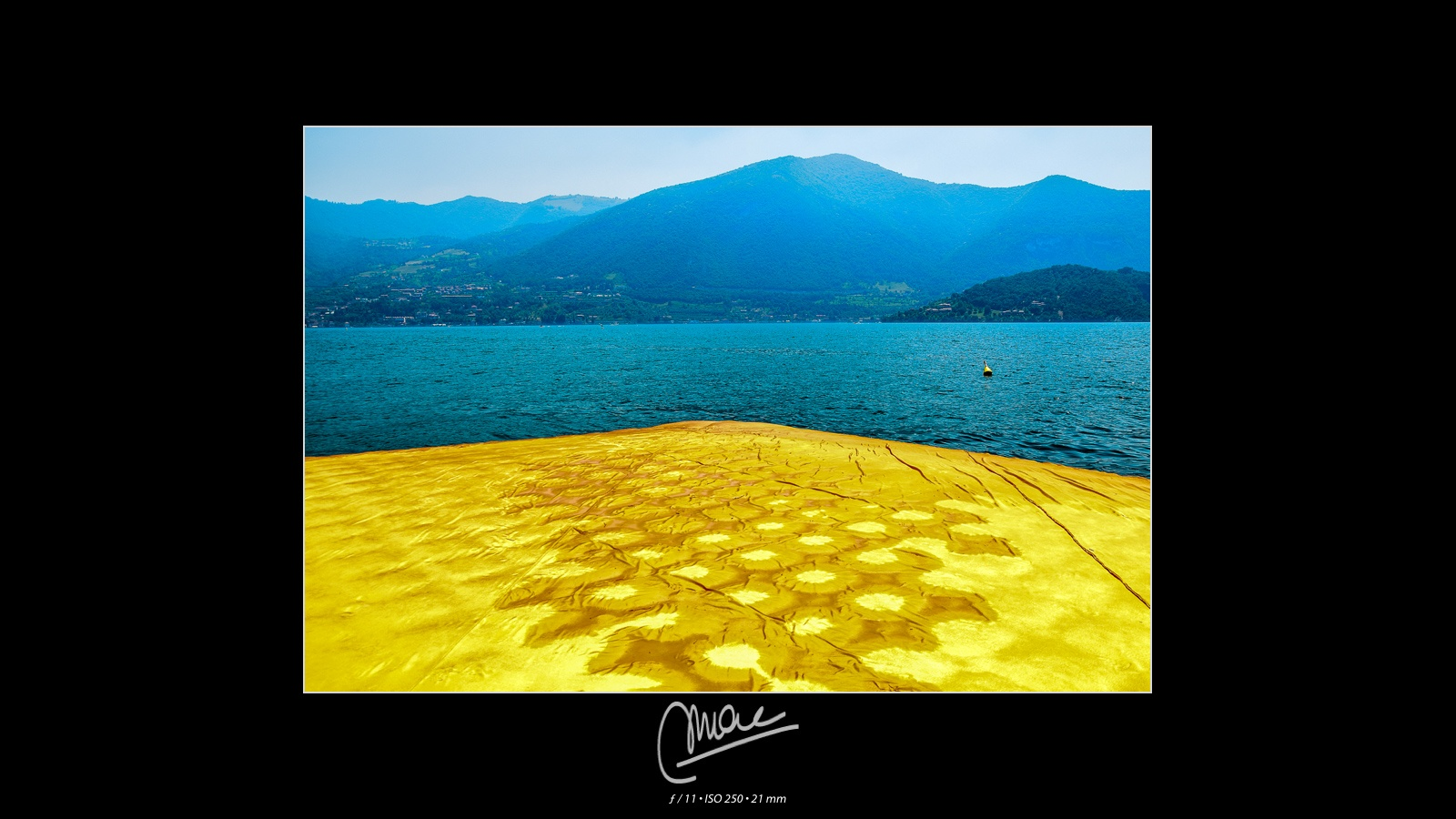 The Floating Piers #8 by Marco Andreazza
