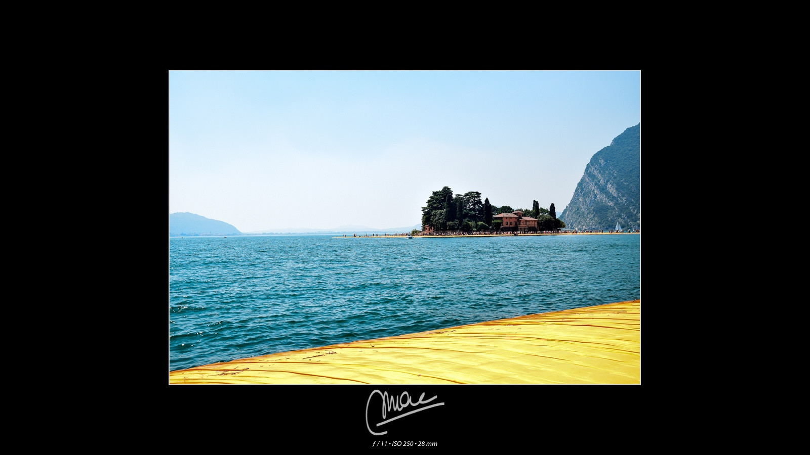 The Floating Piers #7 by Marco Andreazza