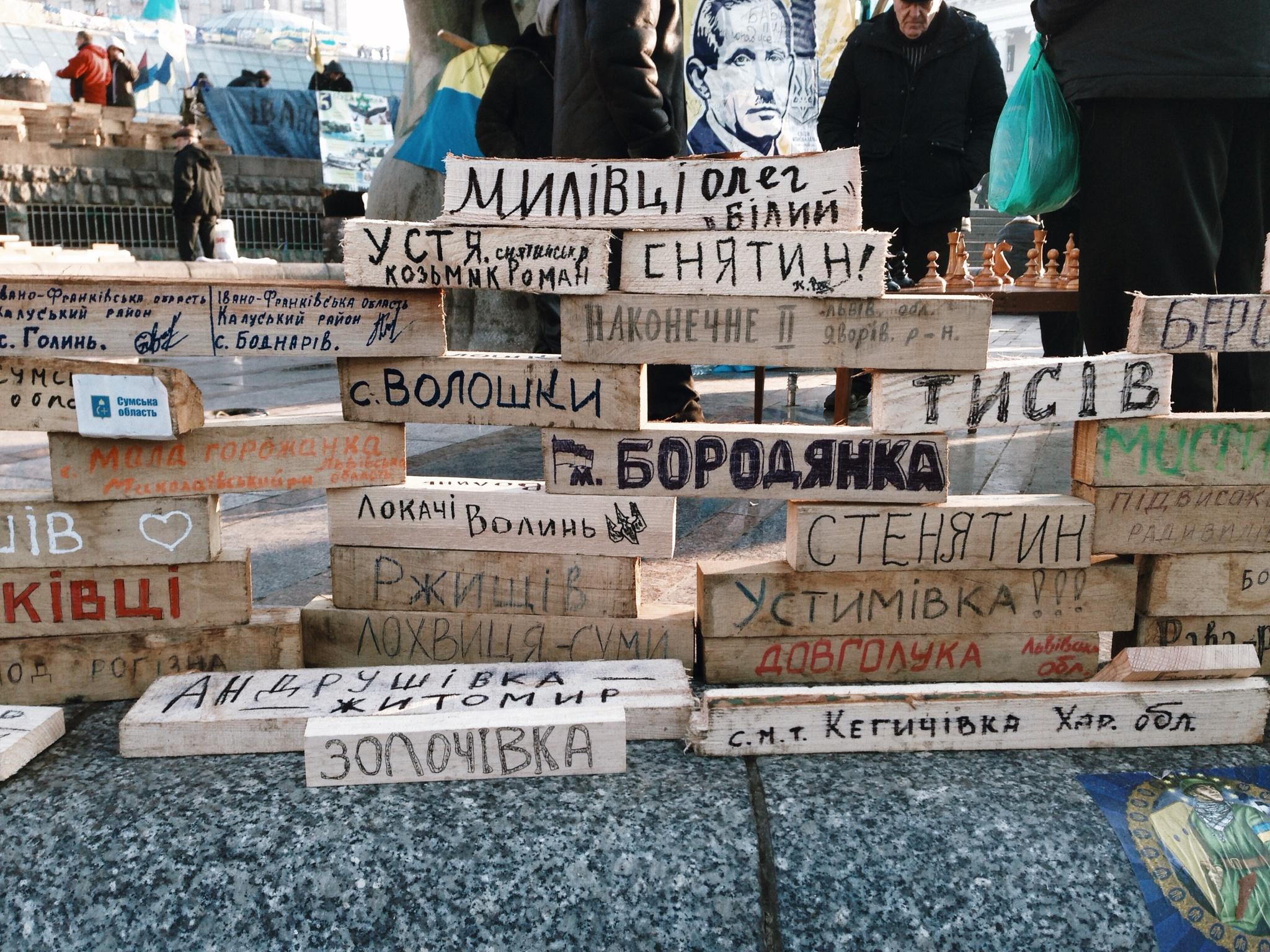 Maidan by Anastsiia Kolomoiets