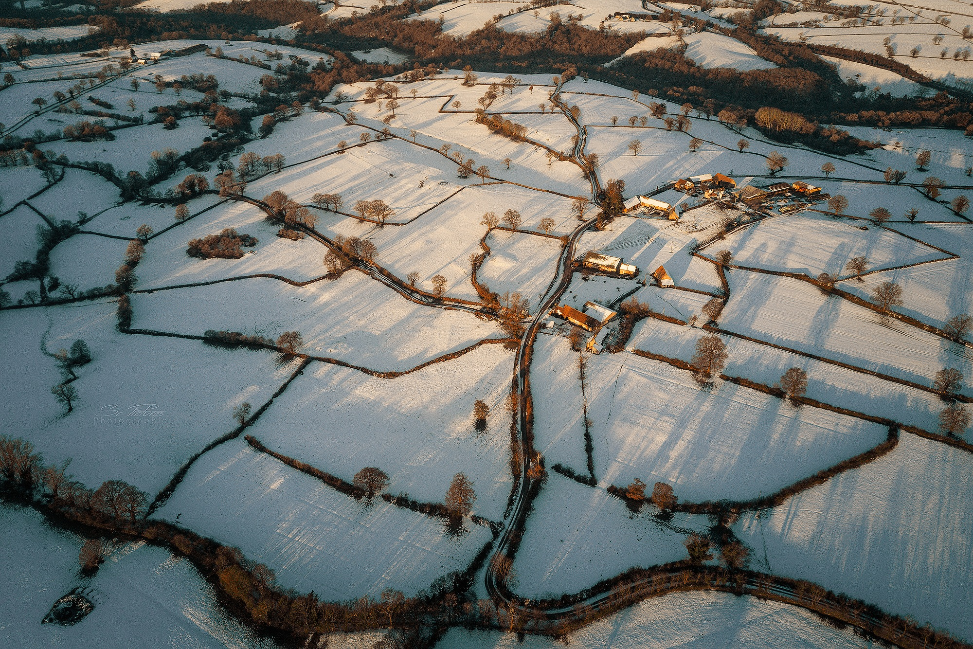 Winter in auvergne  by scpictures