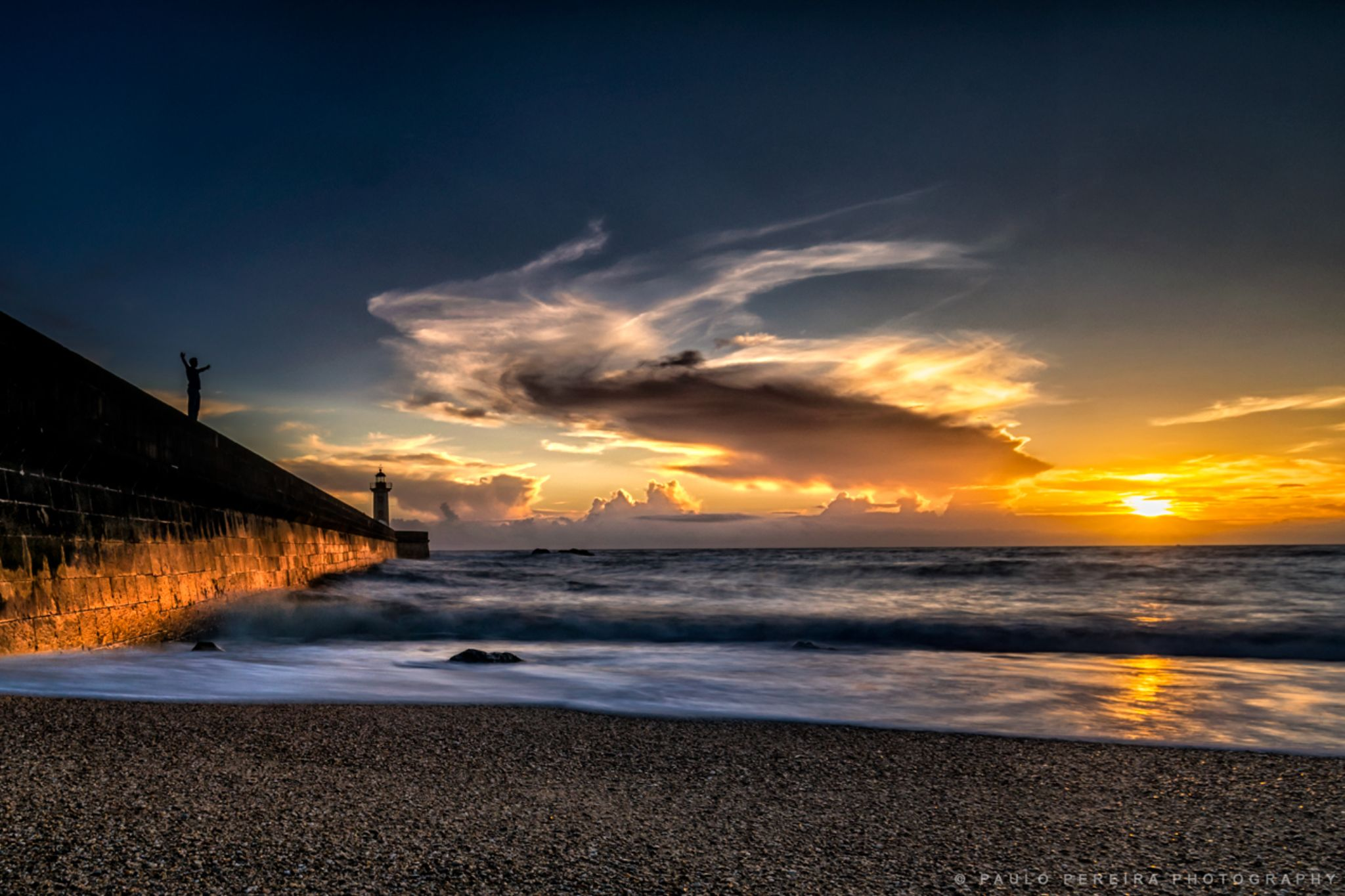 TRILOGY, The Man, the Lighthouse and the Sun by Paulo Pereira Photography