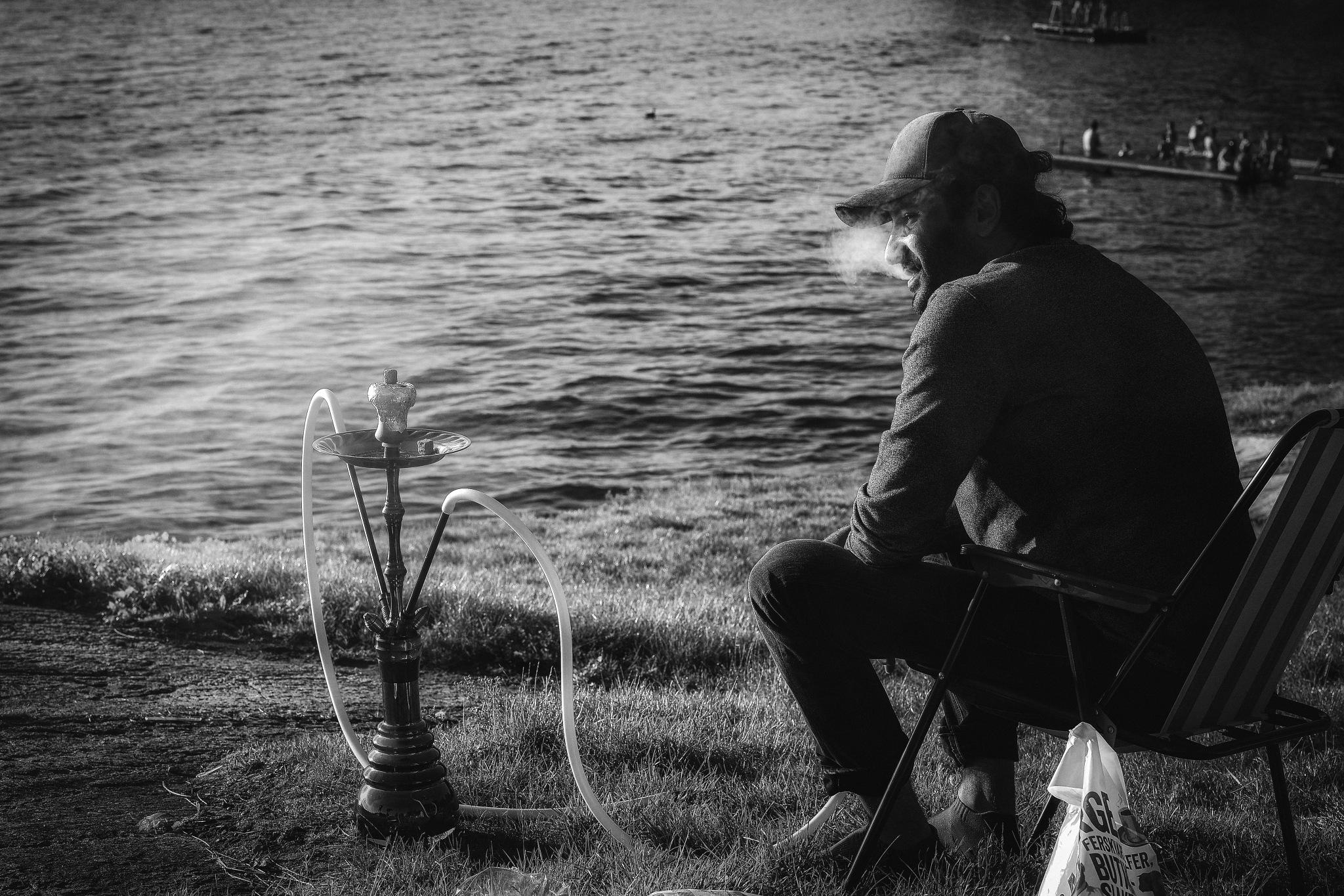 Shisha / Narghile at Oslo Fjord by Goran Jorganovich