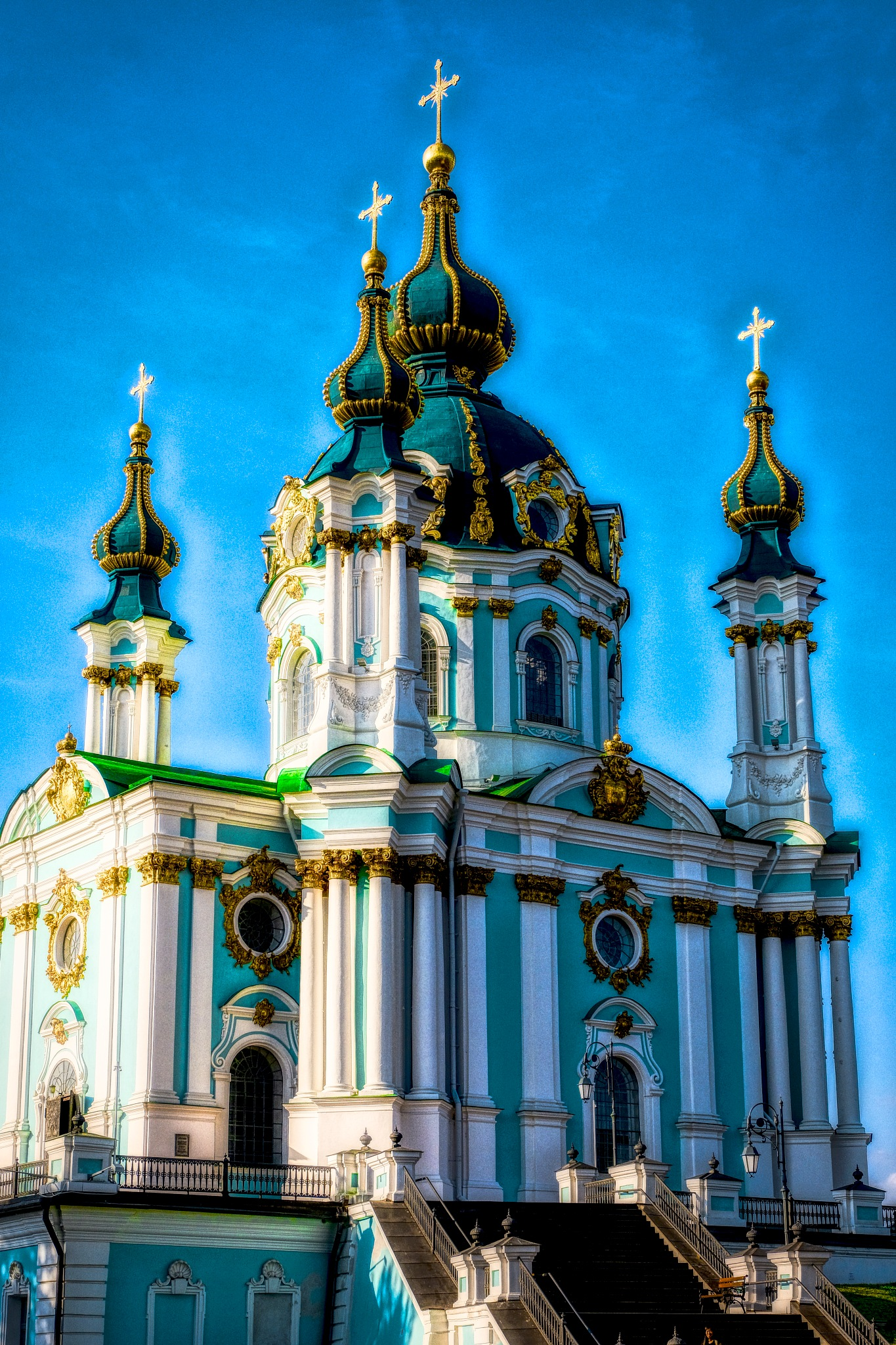 THE CHURCH- Kiev  by Goran Jorganovich