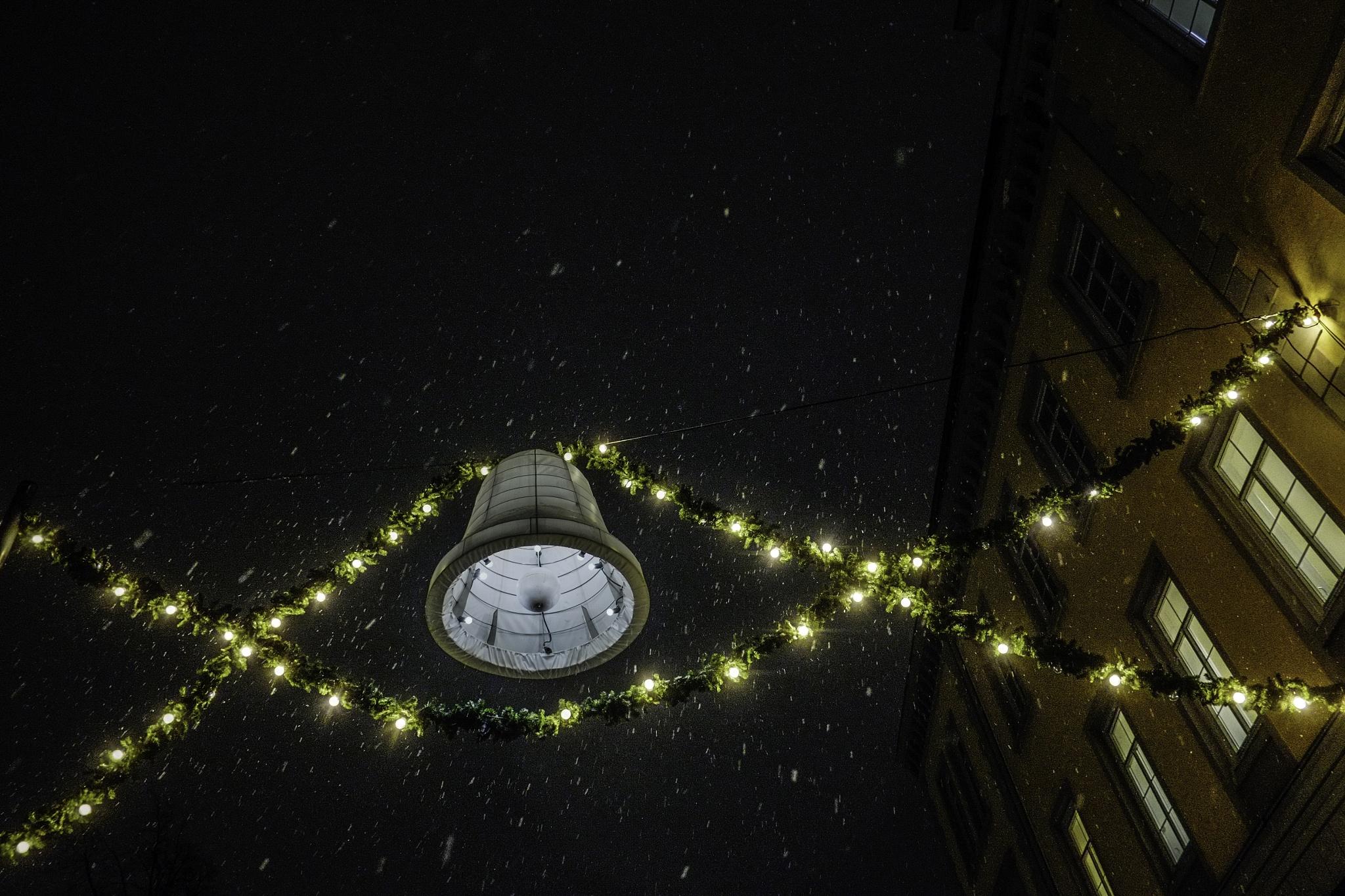 Lantern & Snow by Goran Jorganovich