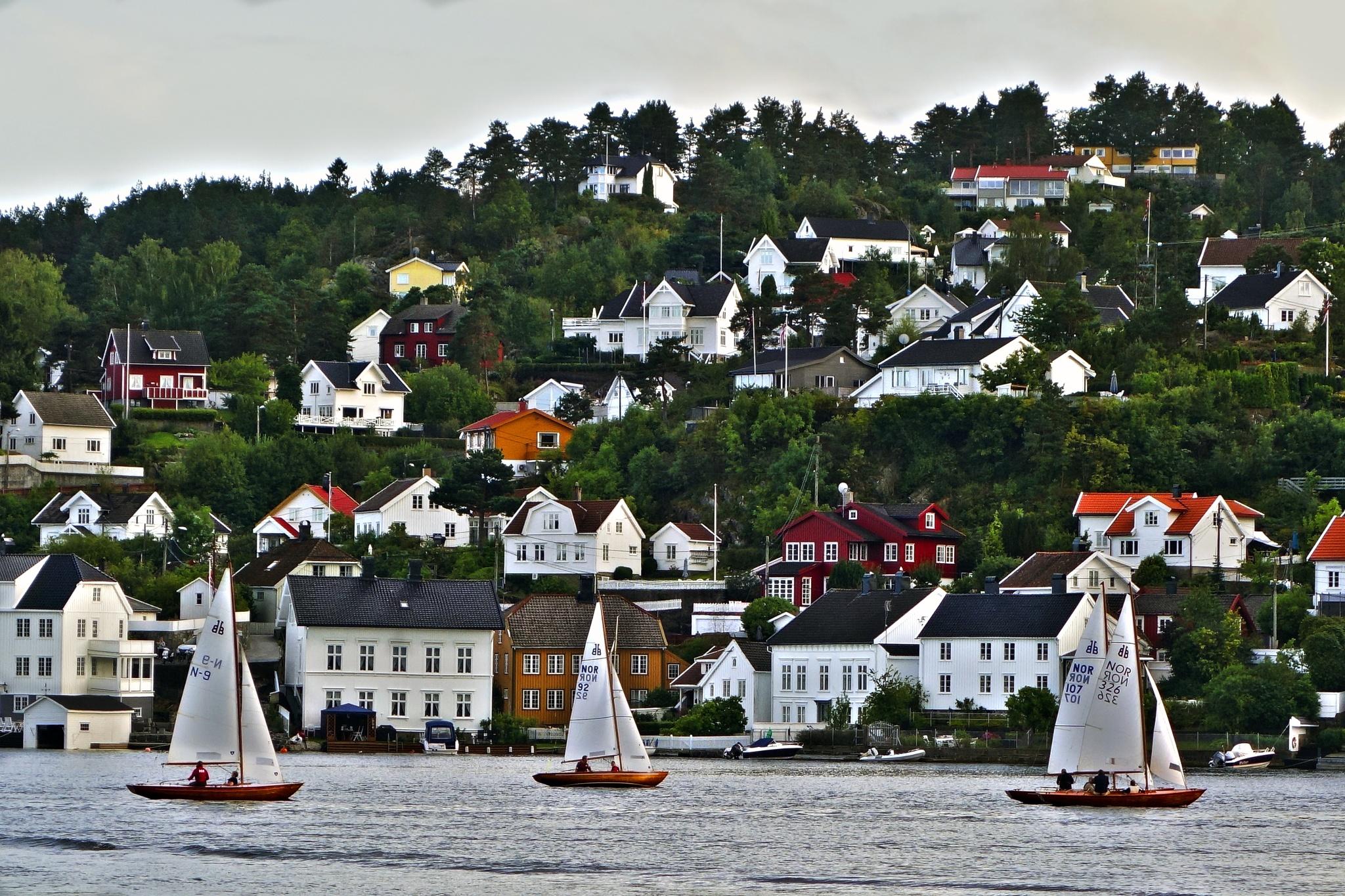 Norwegian Coast  by Goran Jorganovich