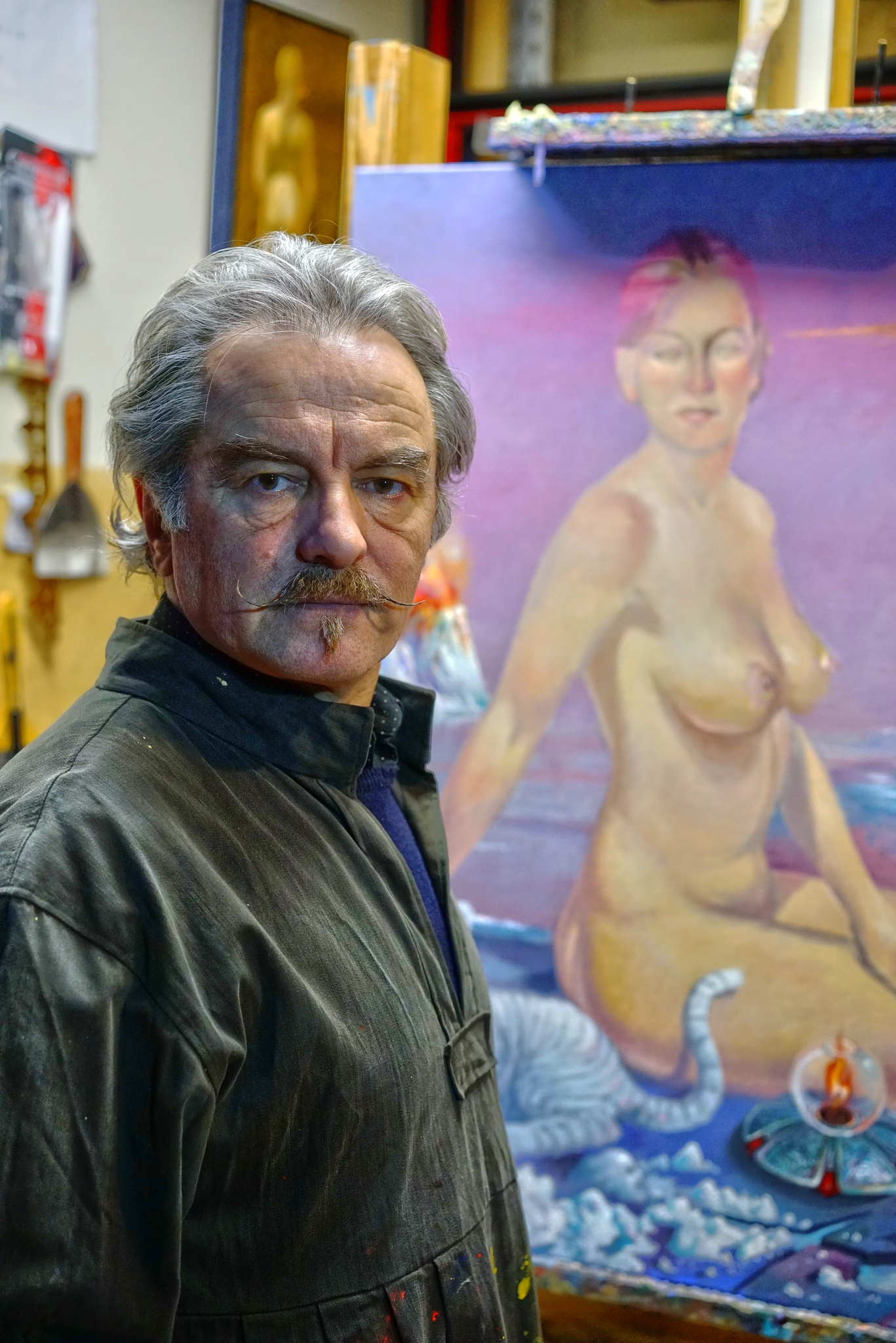 Painter Danilo by Goran Jorganovich