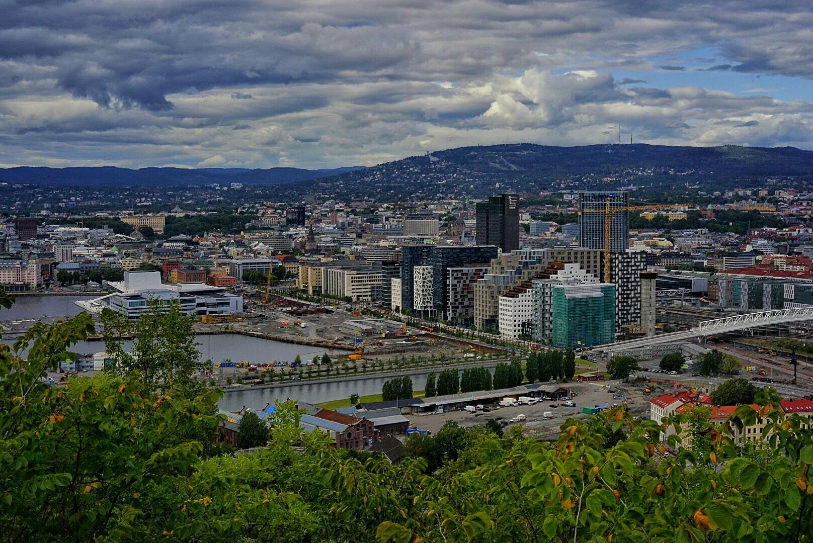 Oslo Norway  by Goran Jorganovich