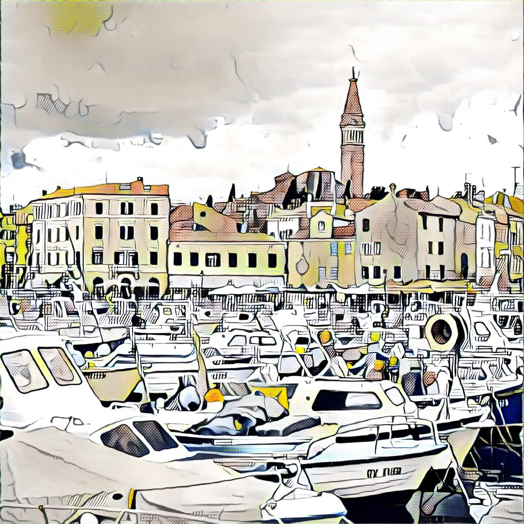 Rovinj -Old city  by Goran Jorganovich
