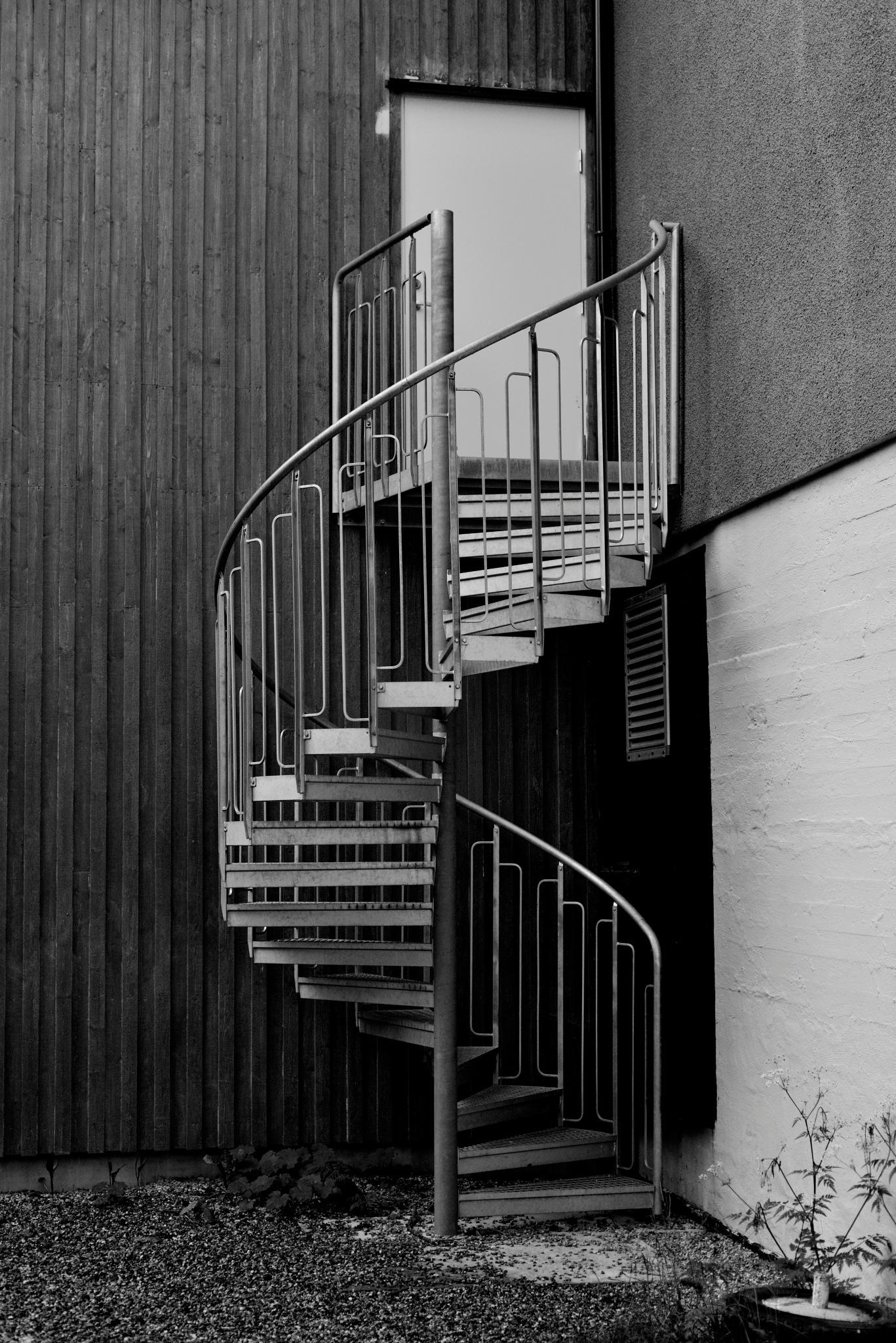 Stairs to Nowhere by Goran Jorganovich