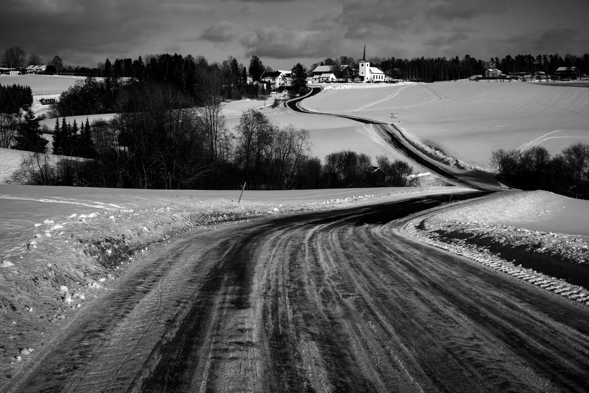 WINTER ROAD TO THE NORTH POLE by Goran Jorganovich