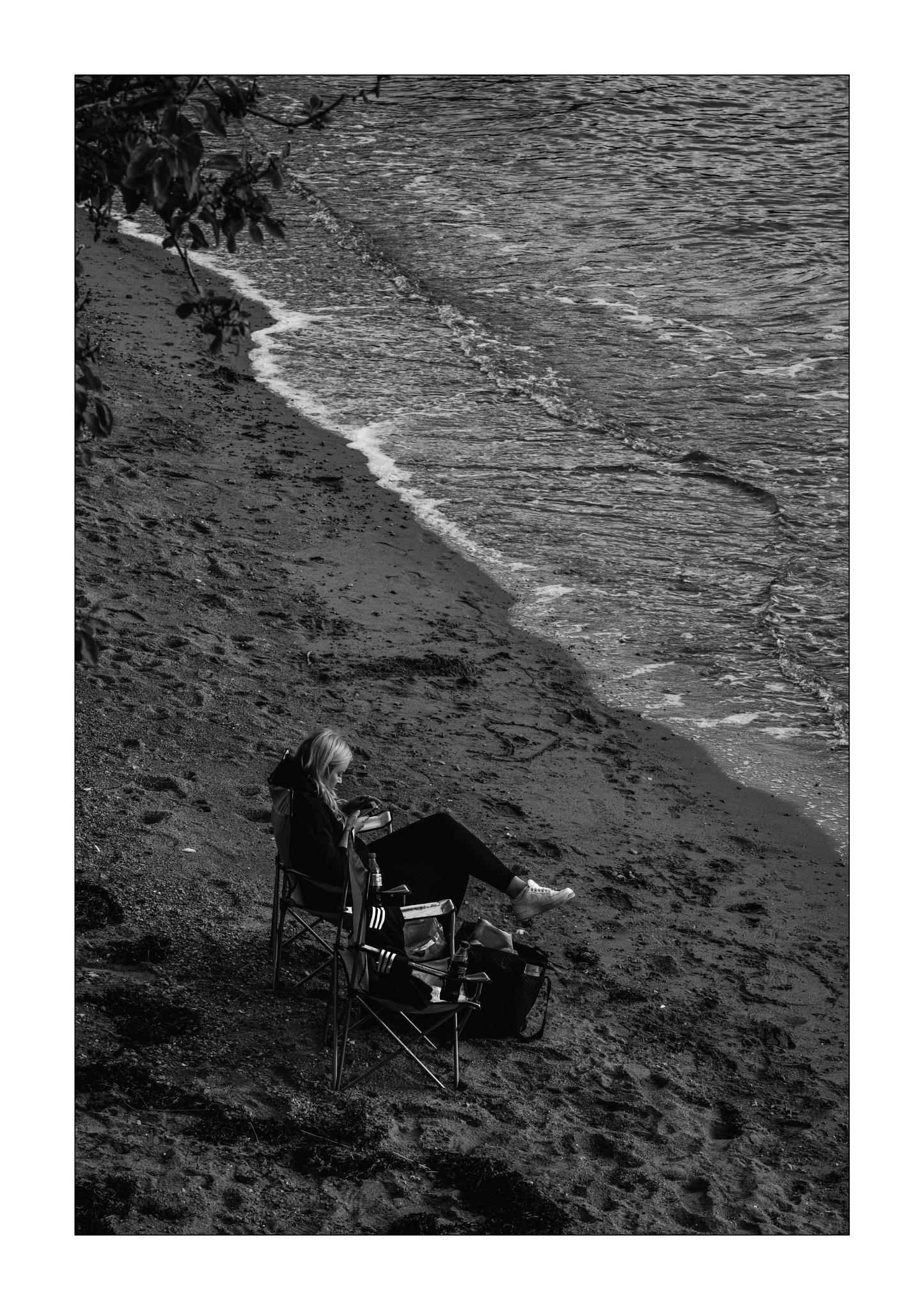 Summer on  The Northern Beach by Goran Jorganovich