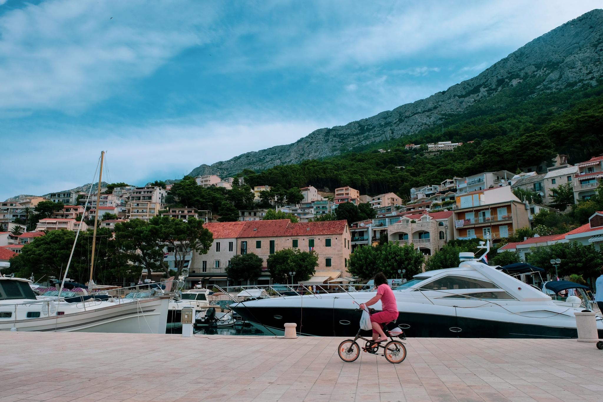 Lonely , rich biker by Goran Jorganovich