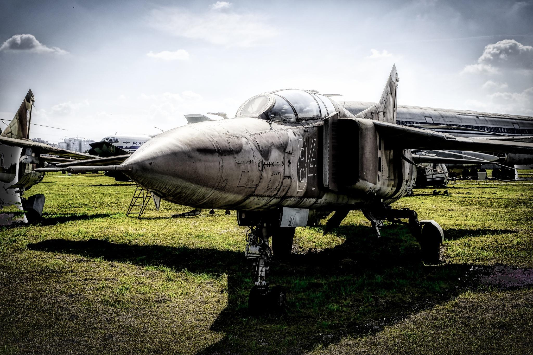 Old MIG-23 by Goran Jorganovich