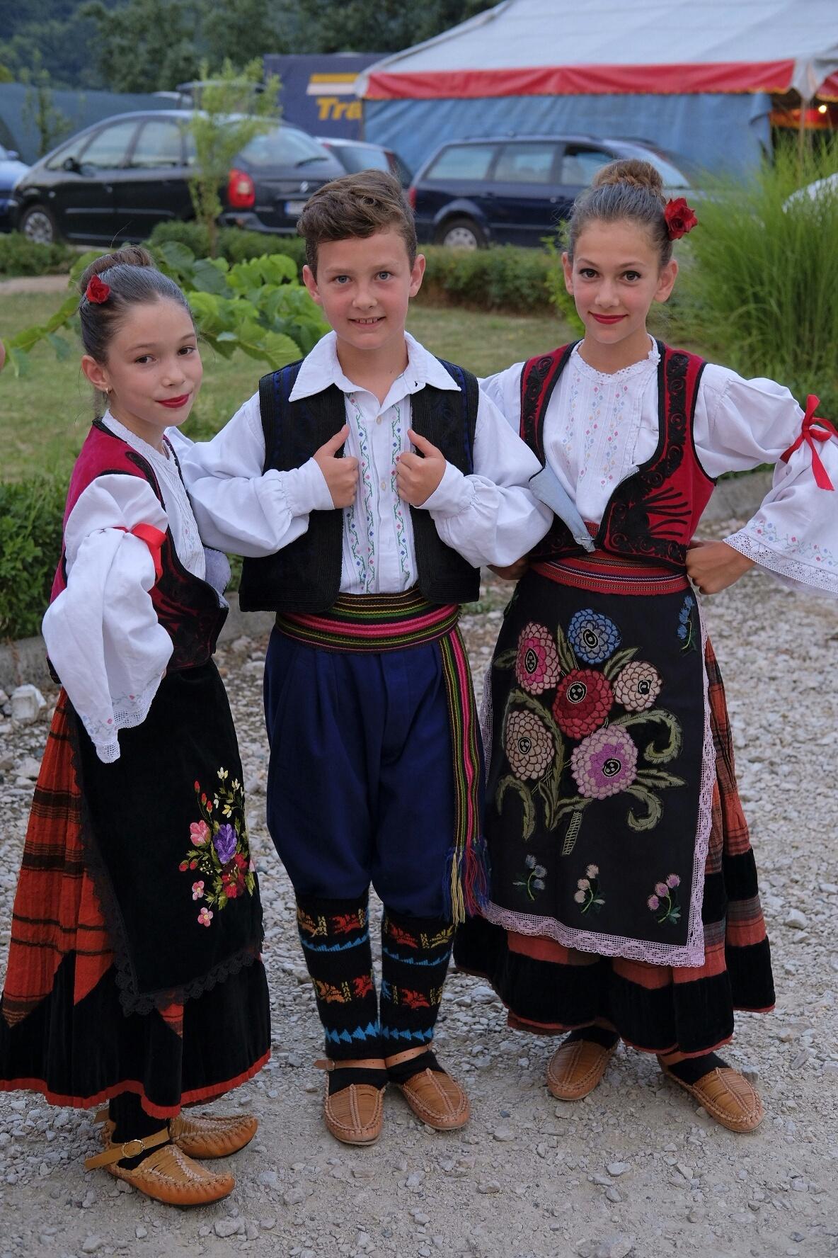 Serbian children celebrate Saint Peter's day by Goran Jorganovich