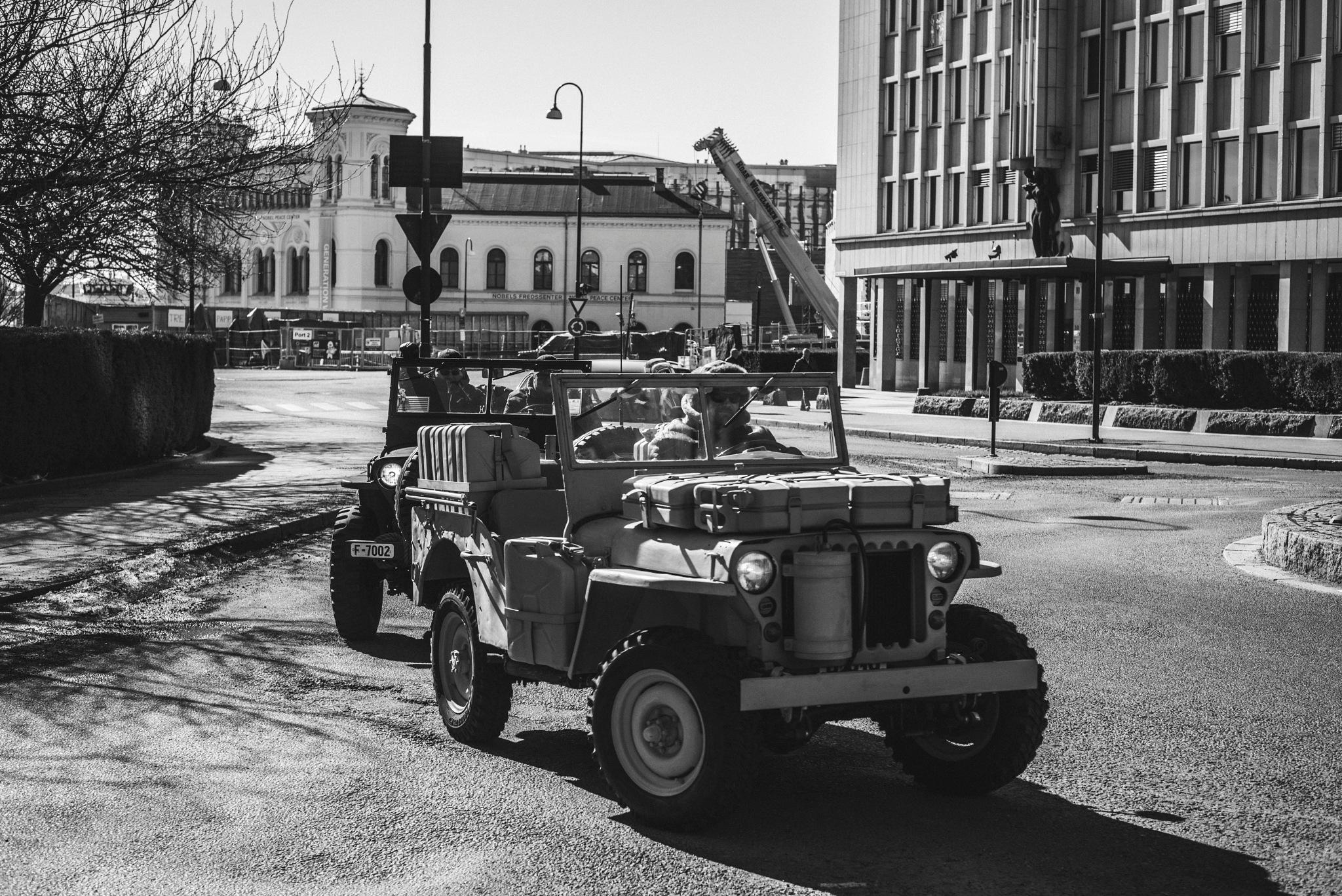 USA forces in Oslo -new WWIII started ? :-) by Goran Jorganovich
